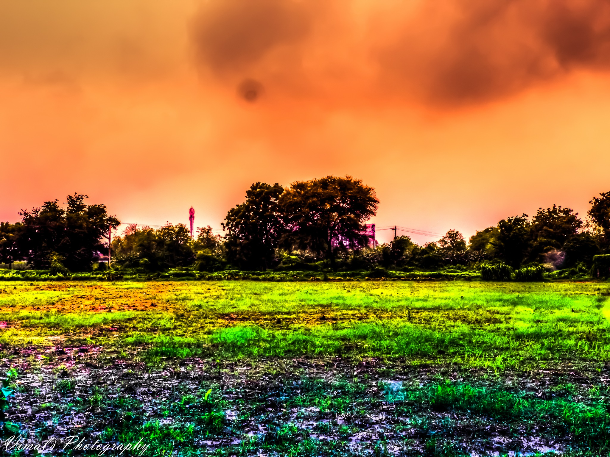 #Abstract #Village #Farm by JAY