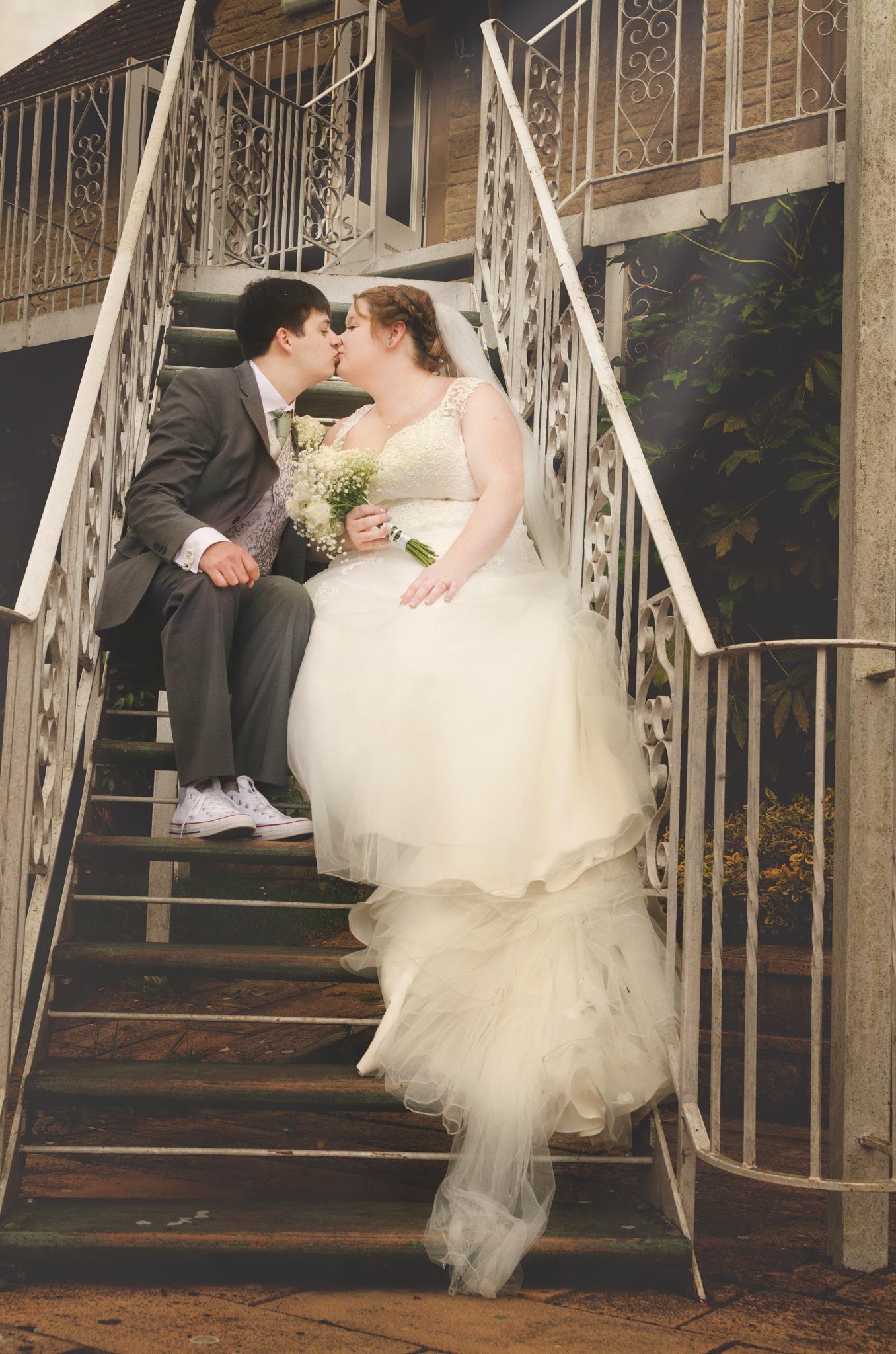 bride and groom by tamara.james.75