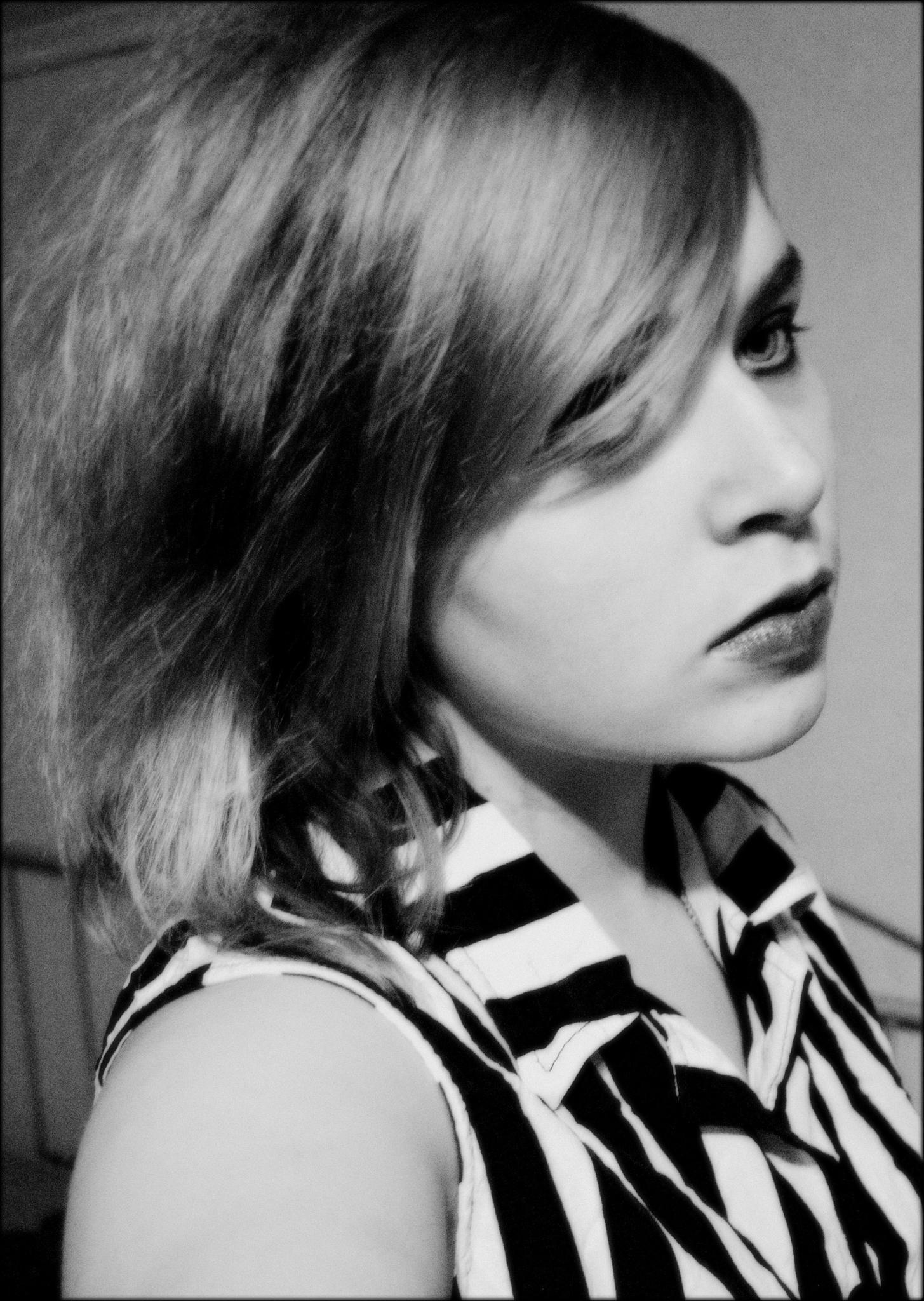 Self-portrait by Hanne