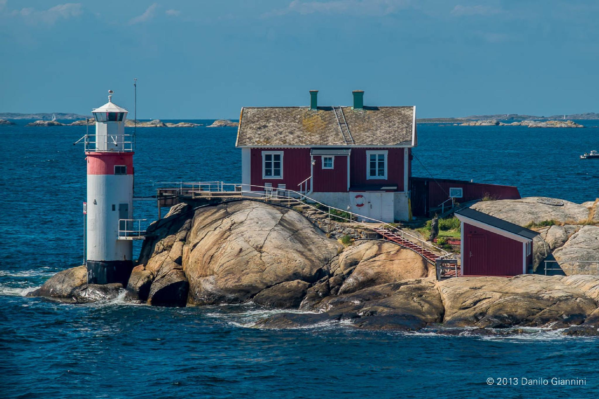 Photo in Sea and Sand #lighthouse #sea #seascape #summer #north #sweden
