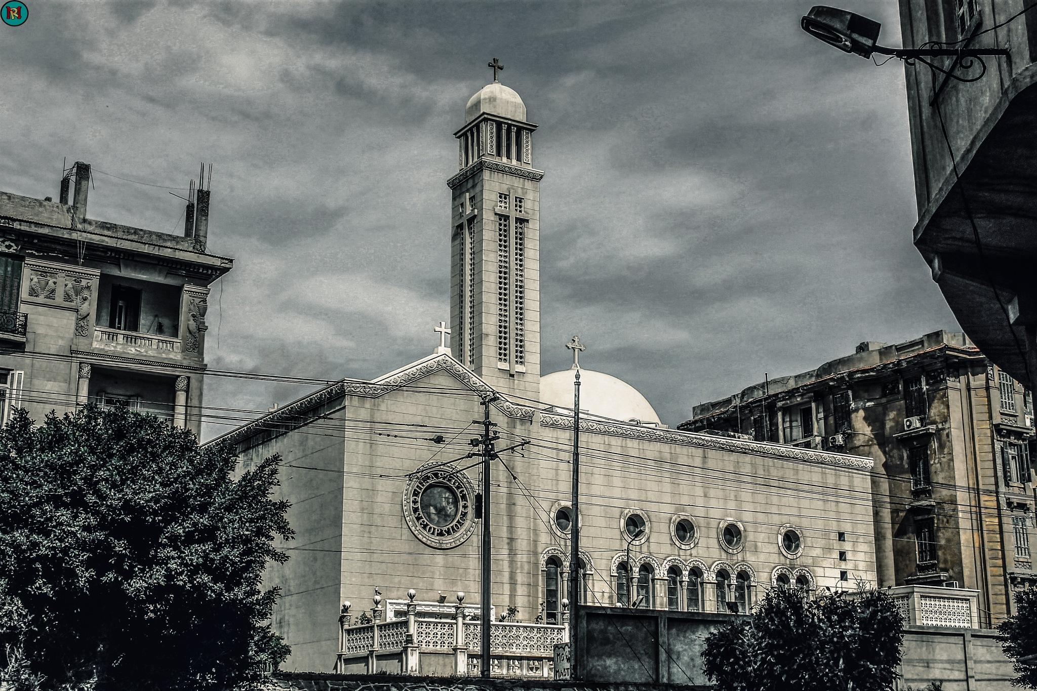 Margerges Church by Muhammad Radi