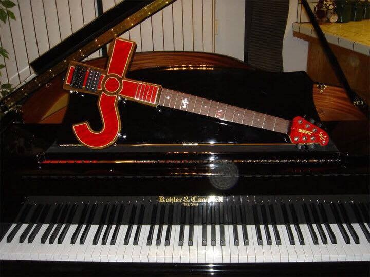 Kronos Guitar & Baby Grand by linda.c.takacs