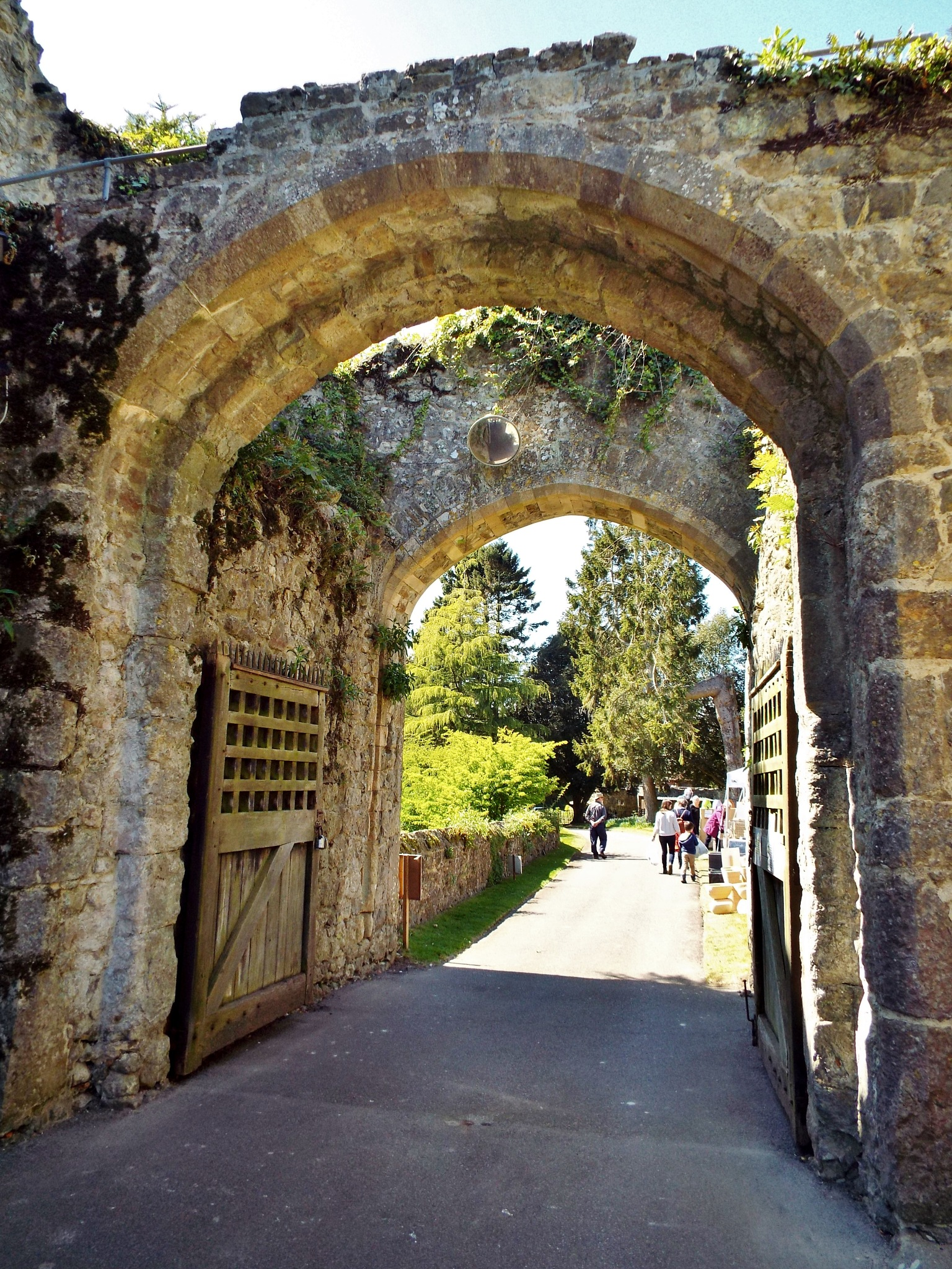 Saltwood Castle gate by barbara.summers1