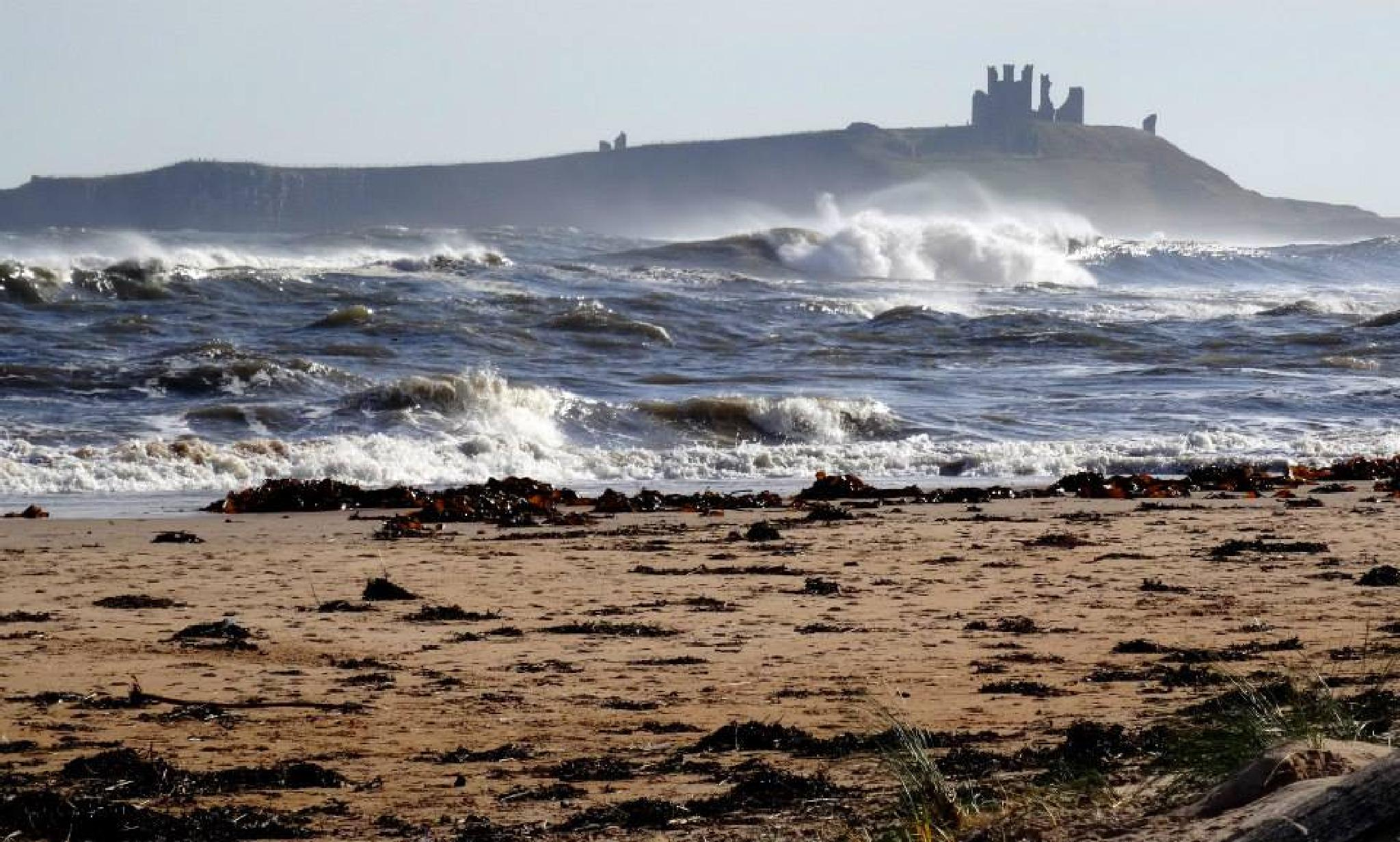 Dunstanburgh Castle, Northumberland by catherine.green.908