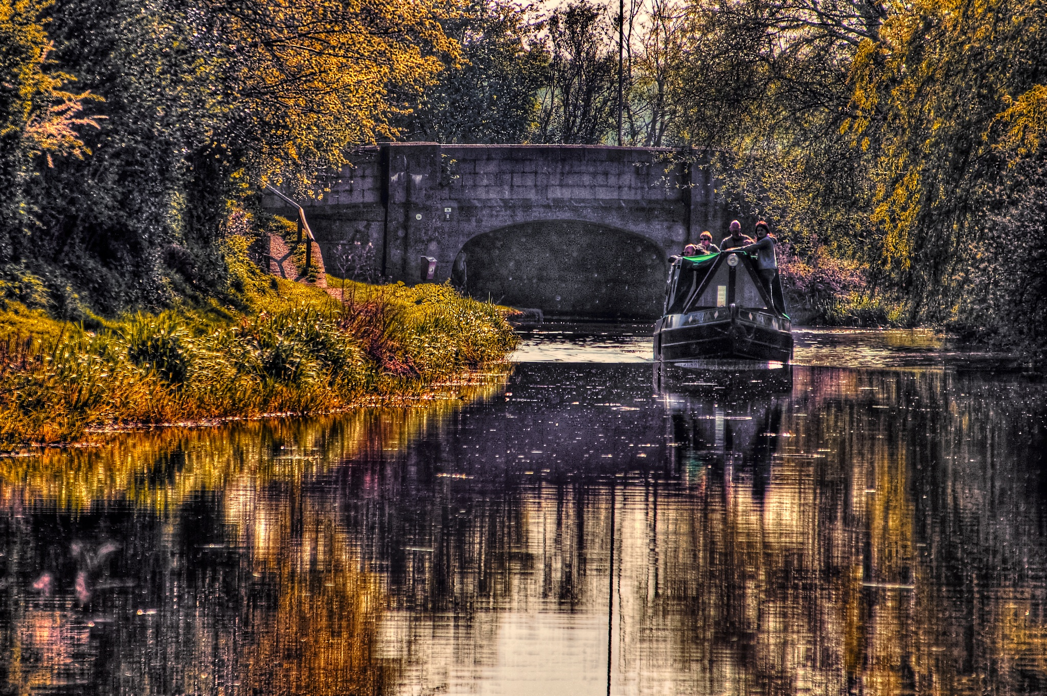 Lazy Evening on the Canal by stephen.harding.735