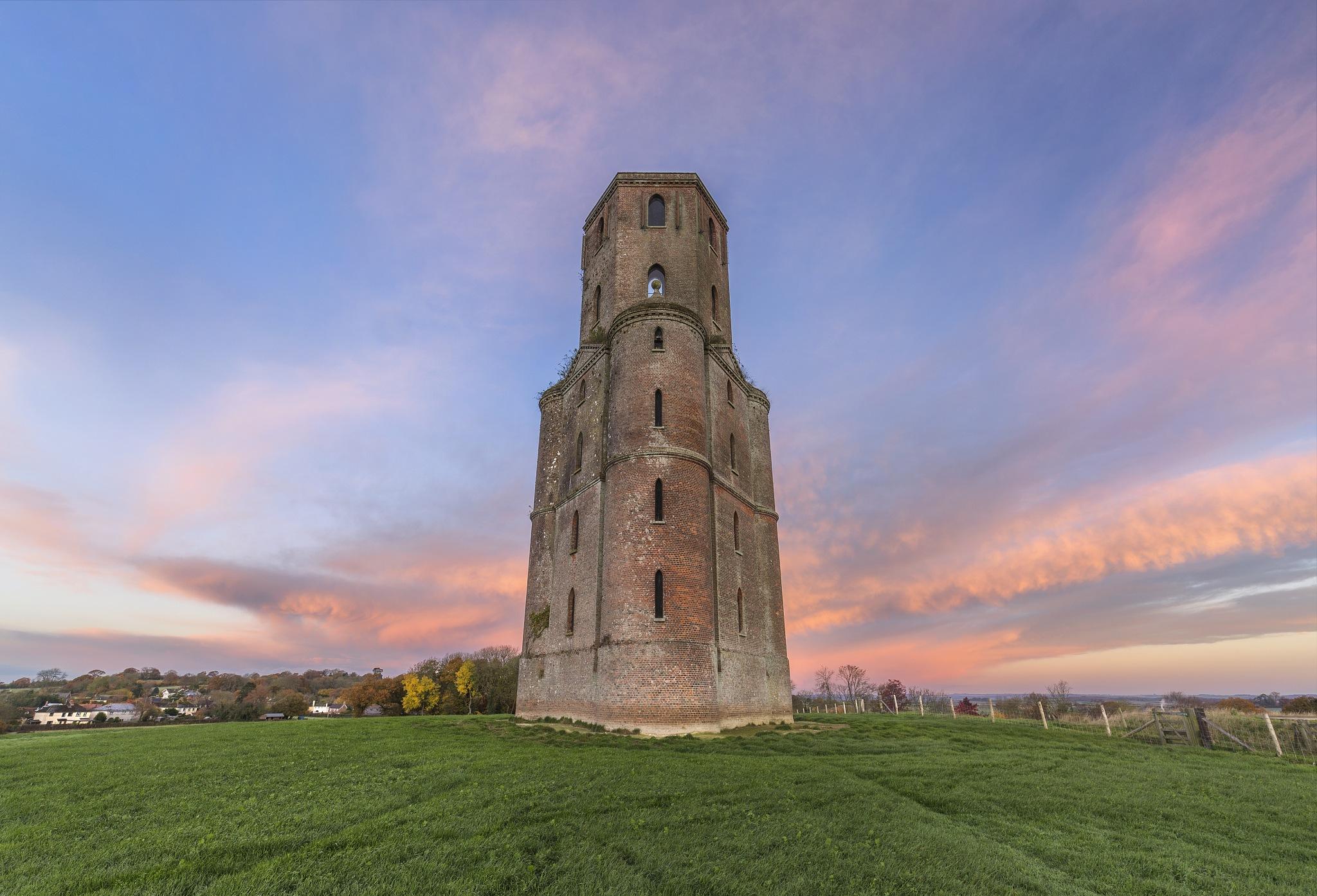 Sunrise at Horton Tower by Daniel Wretham Photography