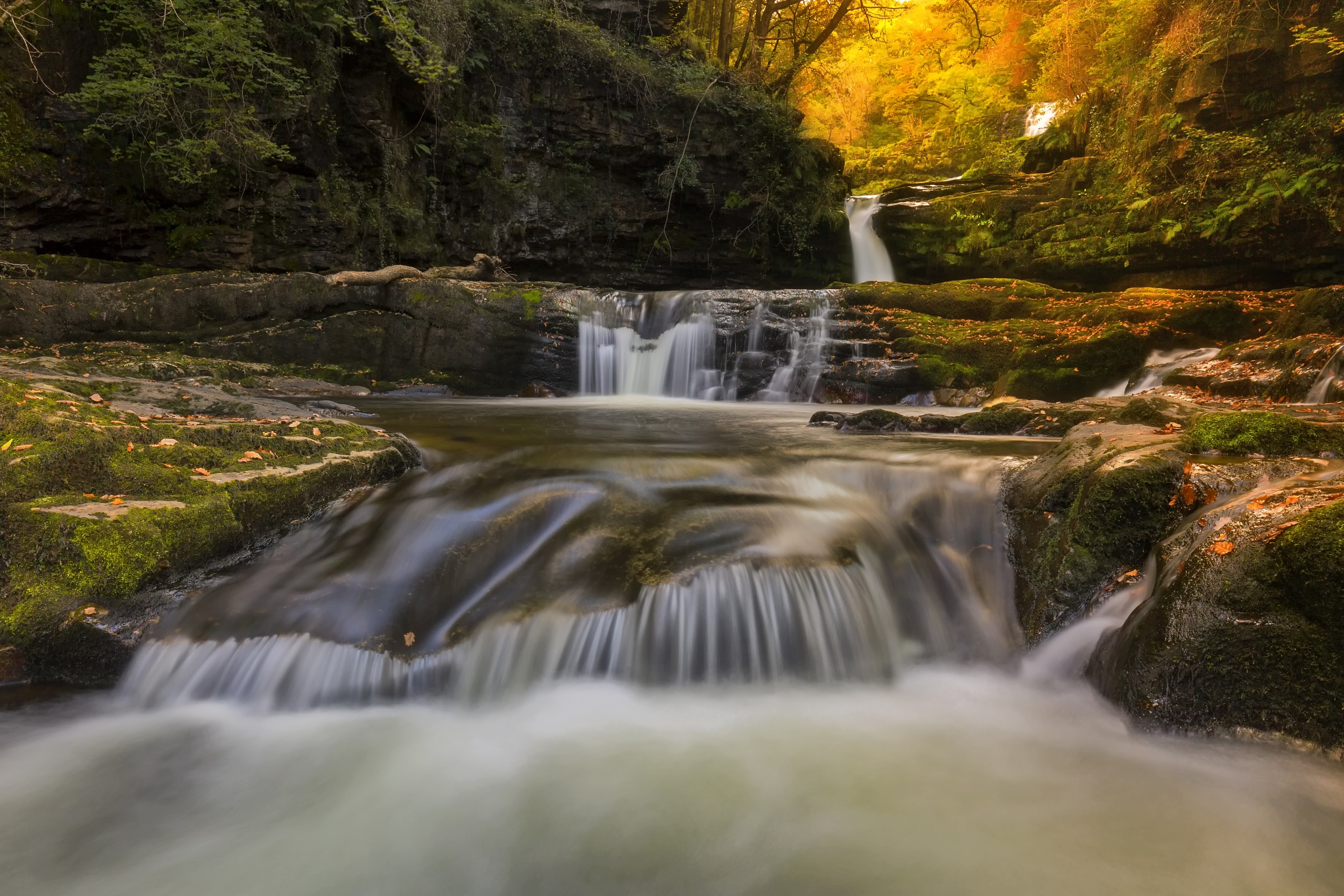 The Four Falls of Light by Daniel Wretham Photography