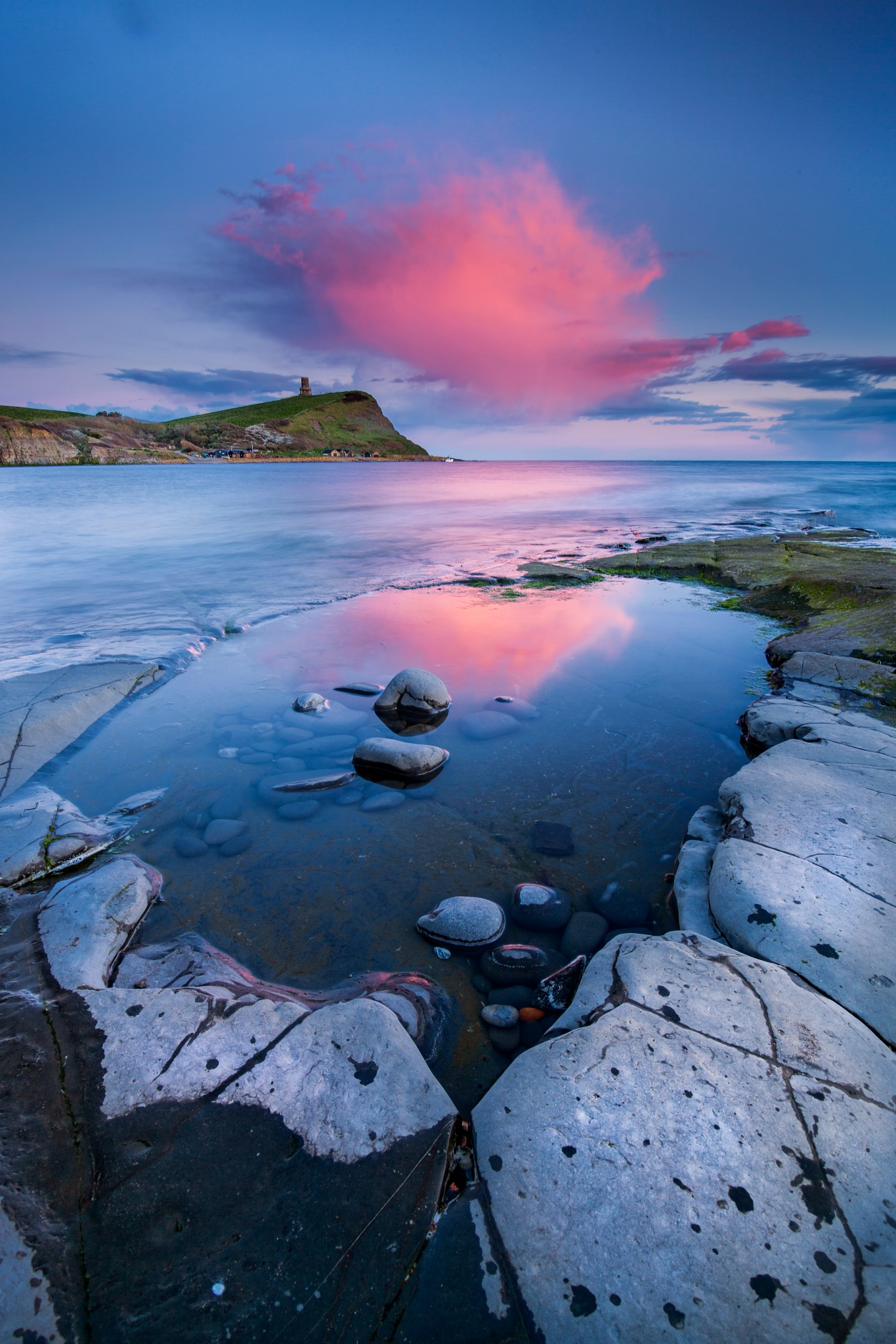 Rock Pool Reflections by Daniel Wretham Photography