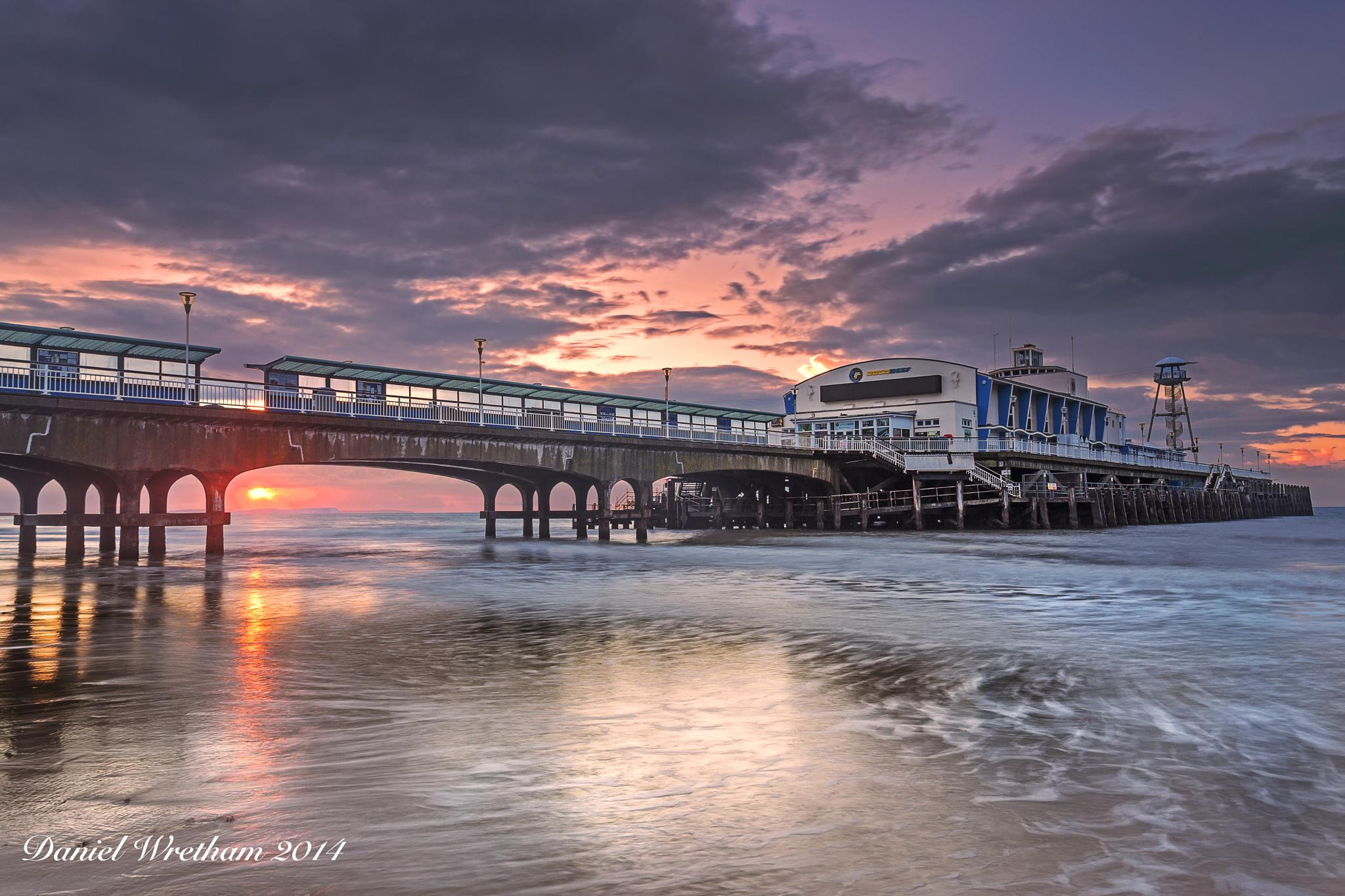 Bournemouth Pier by Daniel Wretham Photography
