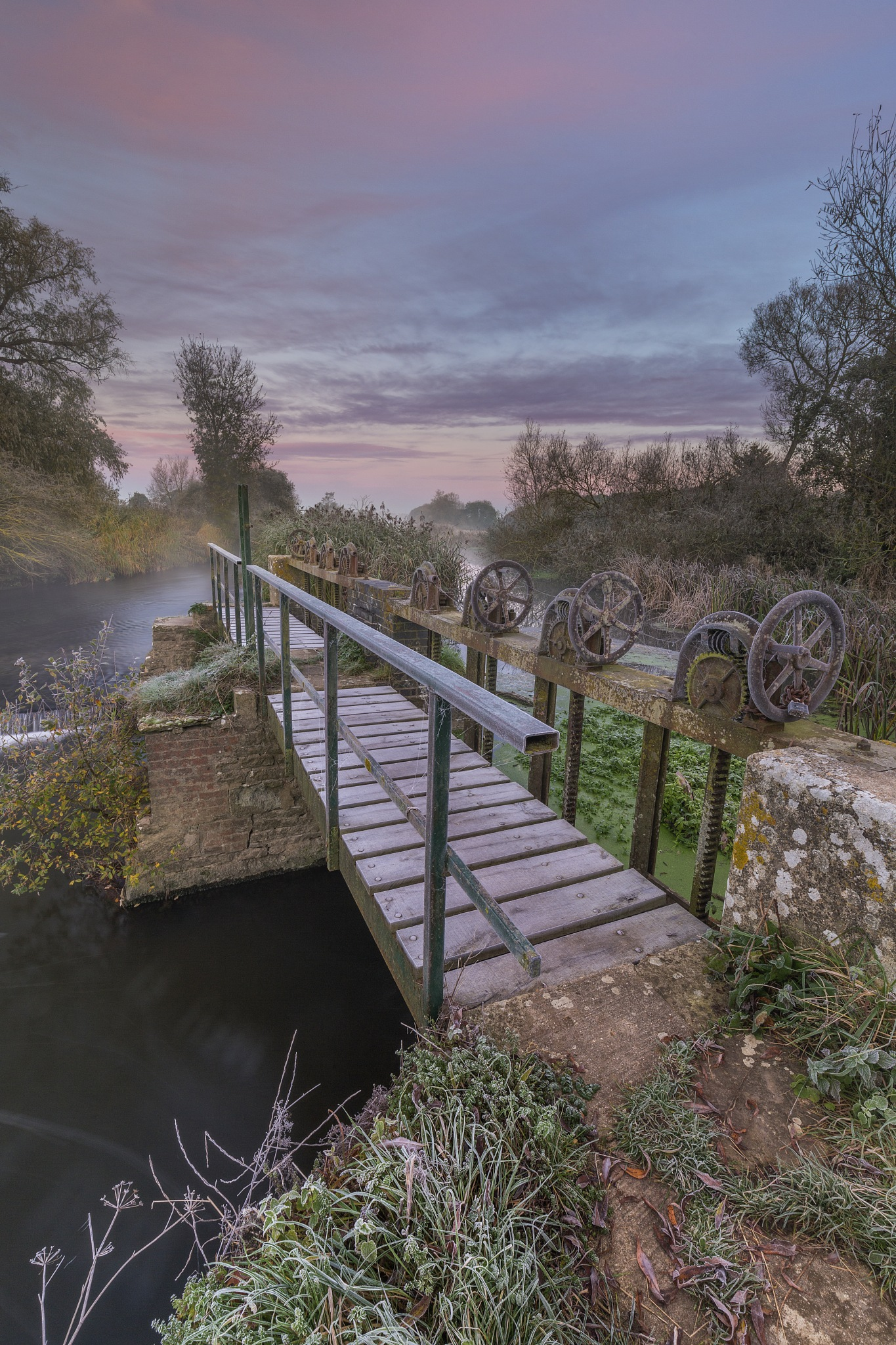 The Sluice Gate by Daniel Wretham Photography