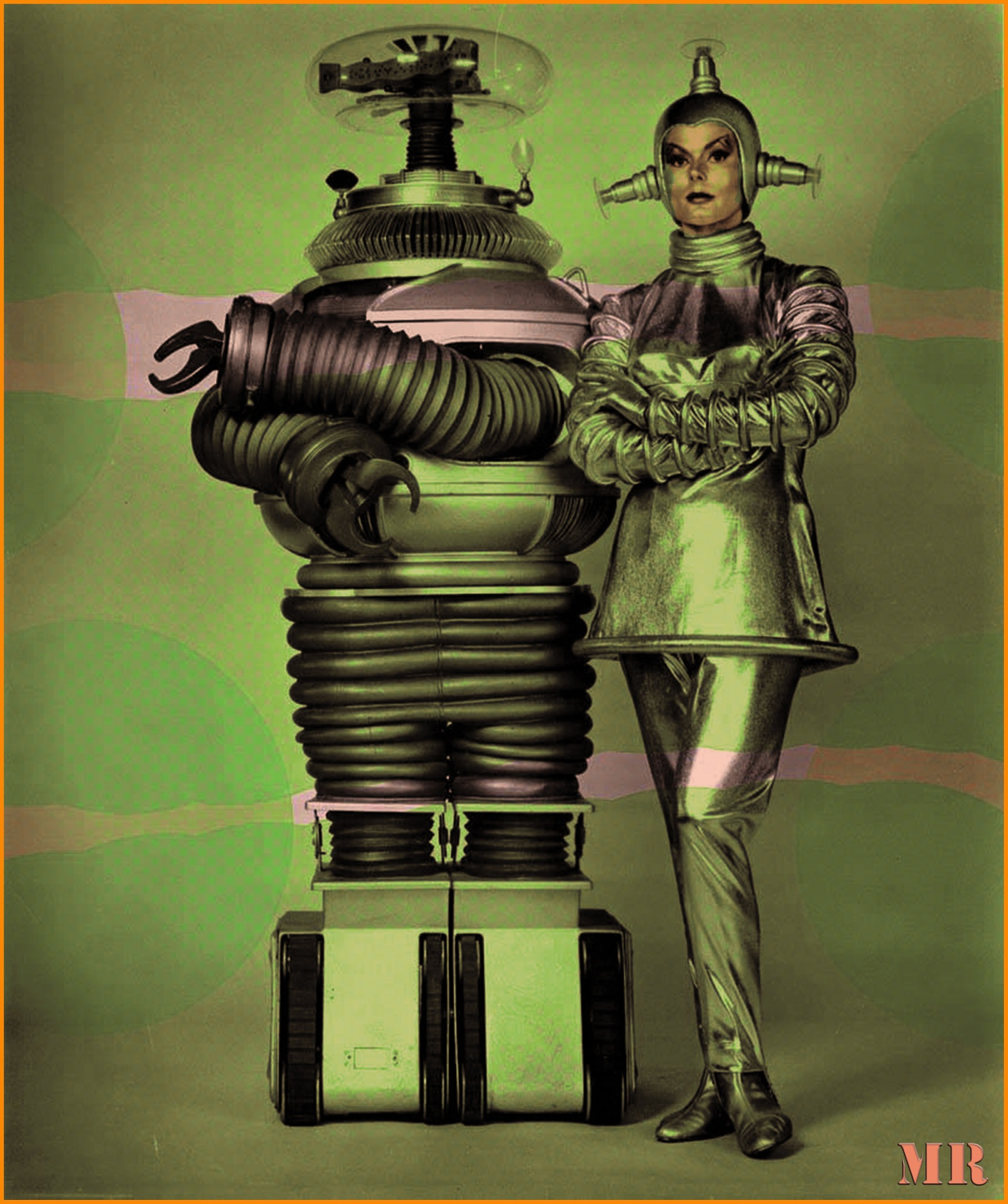A science fiction photo from the 60´s by Mikael Rennerhorn