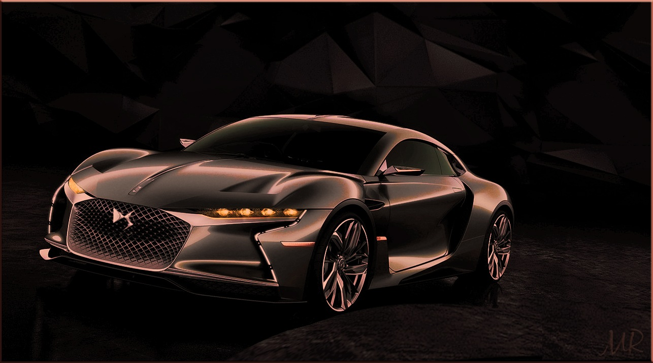 Concept from CITROÊN, The DS-E-Tence by Mikael Rennerhorn