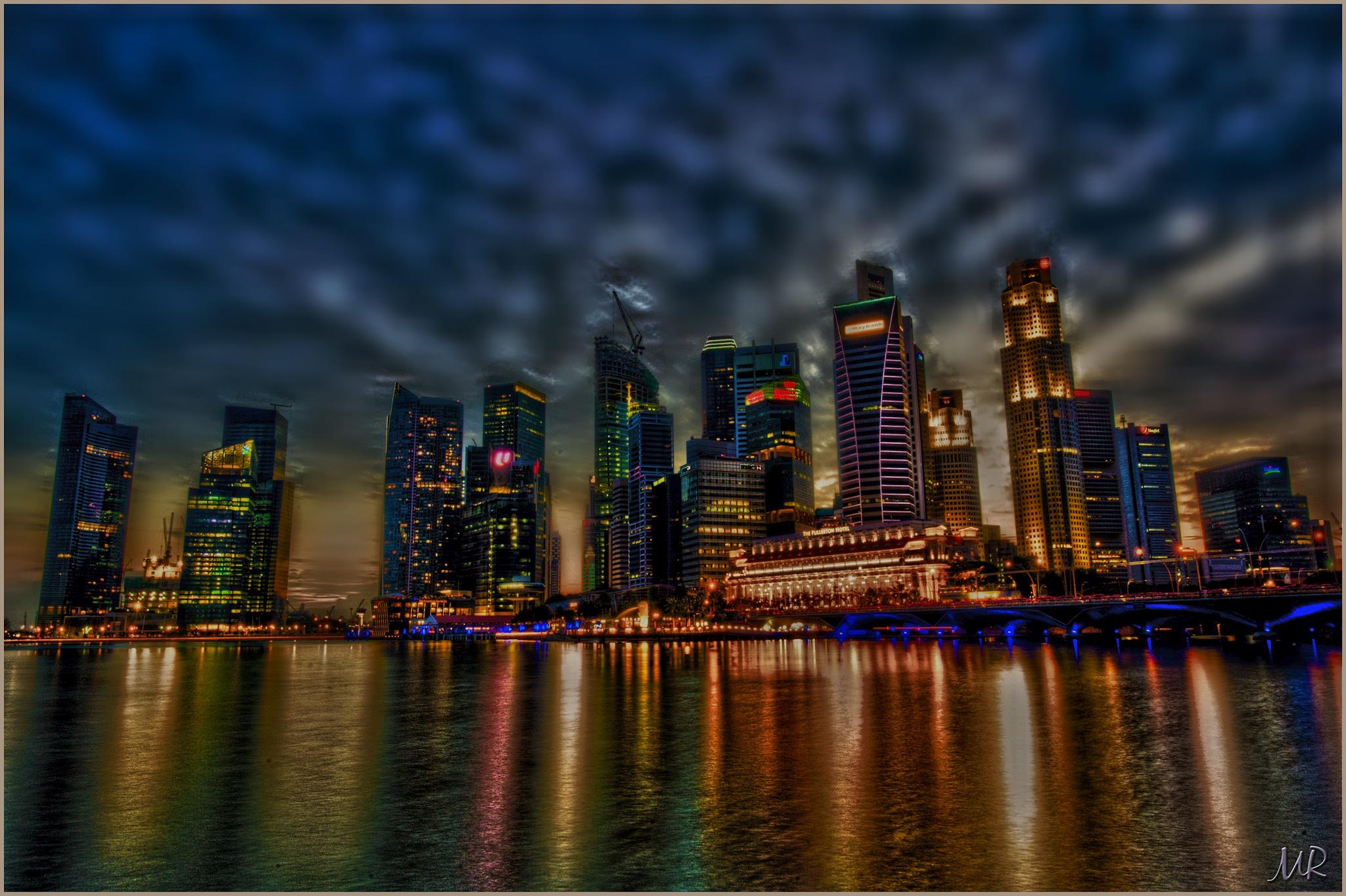 The Skyline by Mikael Rennerhorn