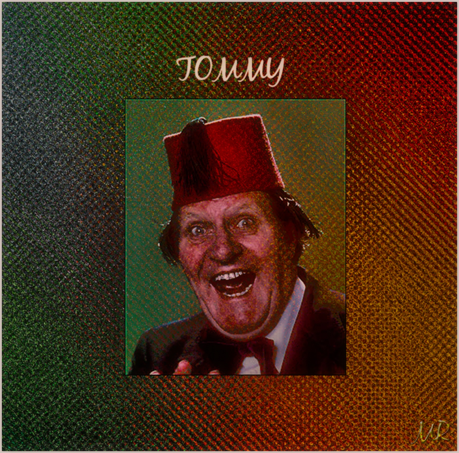 Tommy Cooper by Mikael Rennerhorn