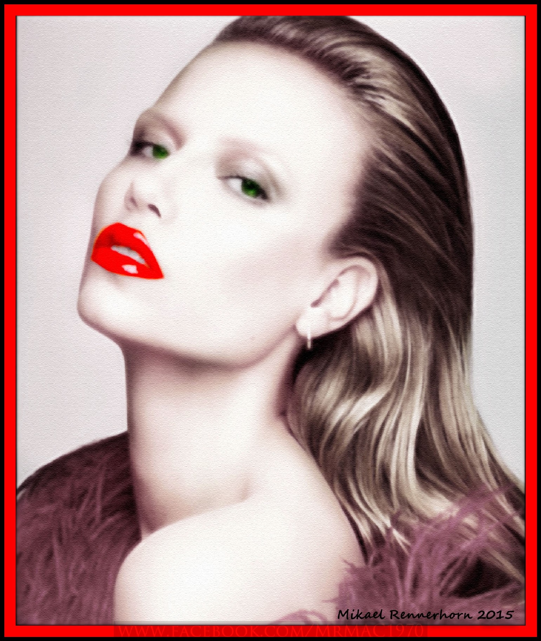 Mirrored Natacha Poly, picture from Vogue. Filters and other colors by Mikael Rennerhorn