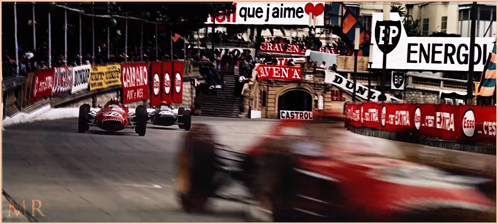 F1 Monaco Grand Prix 1962 by Mikael Rennerhorn