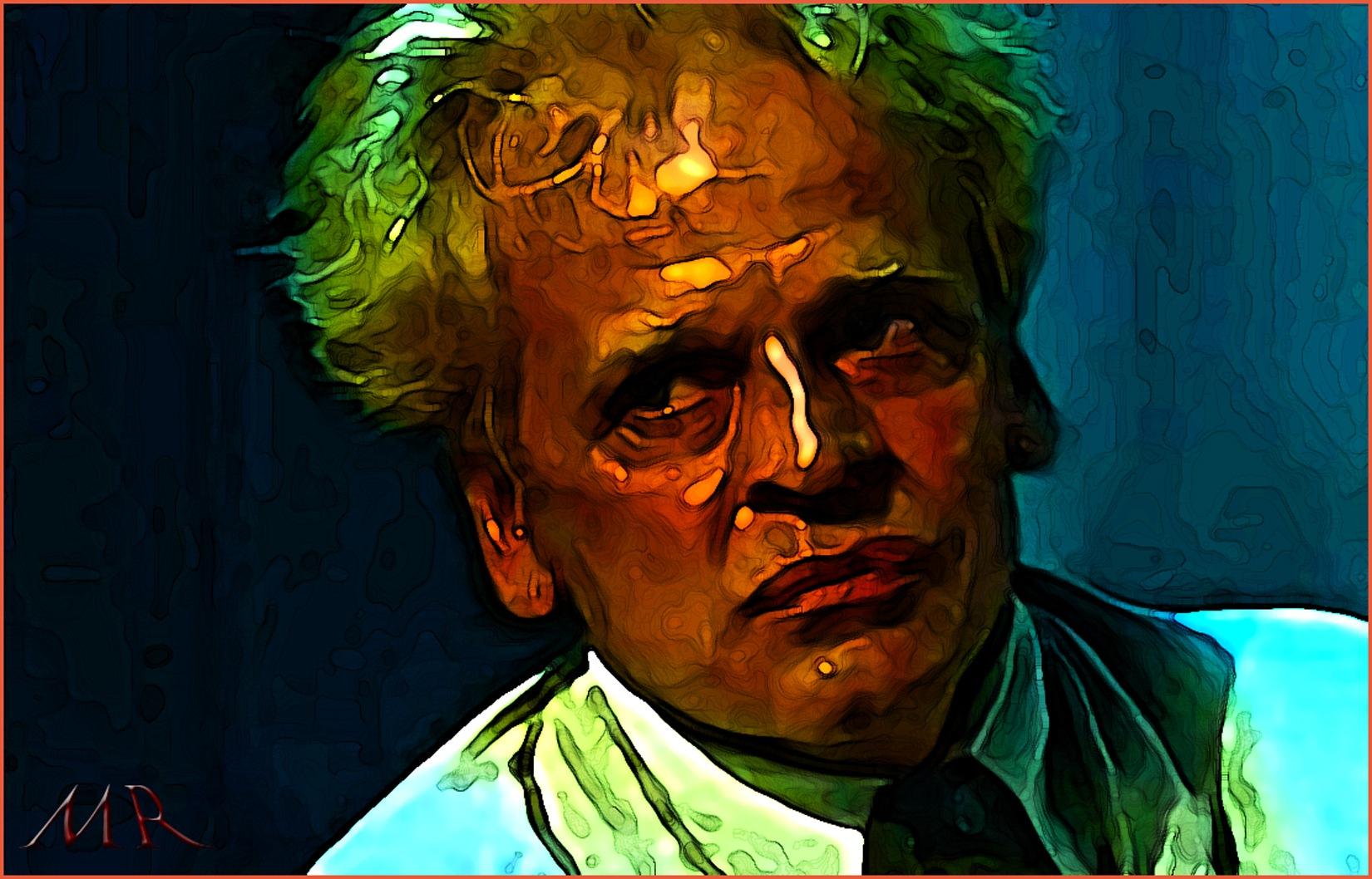 Klaus Kinski by Mikael Rennerhorn