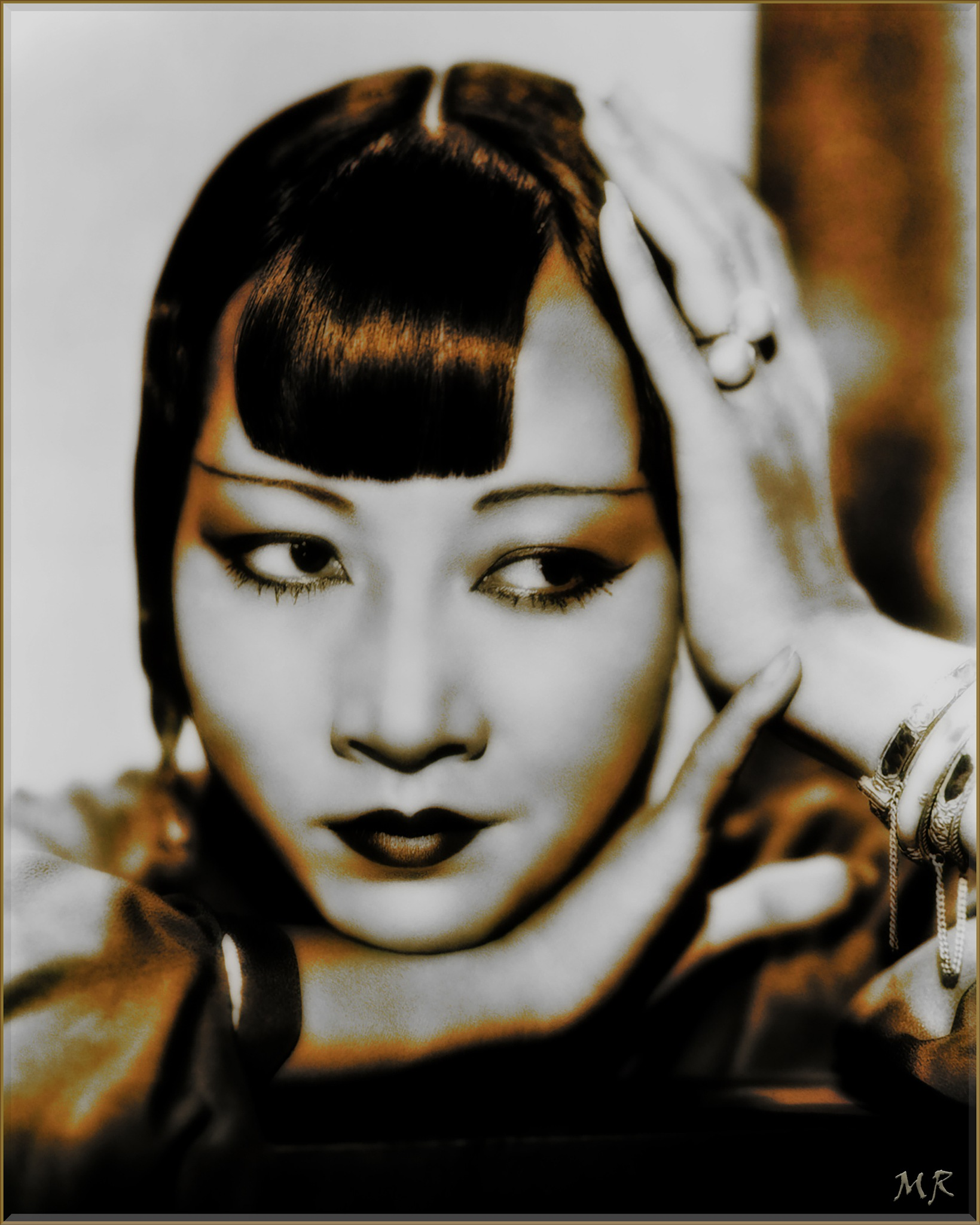 Anna May Wong,  by Mikael Rennerhorn