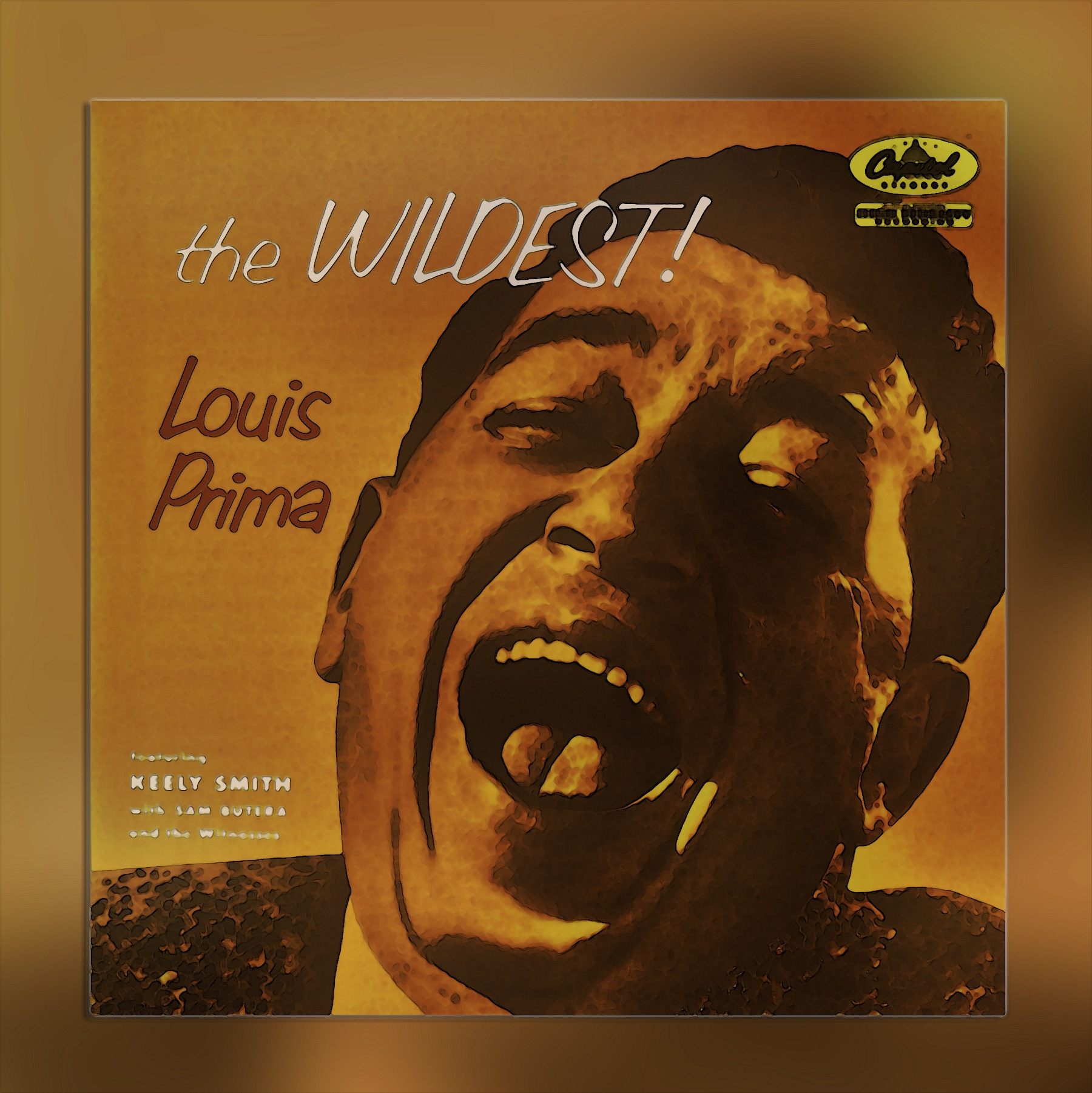LP Covers:  Louis Prima by Mikael Rennerhorn