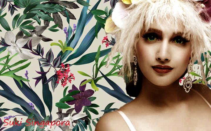 Burlesque Artist Suki Singapora by Mikael Rennerhorn