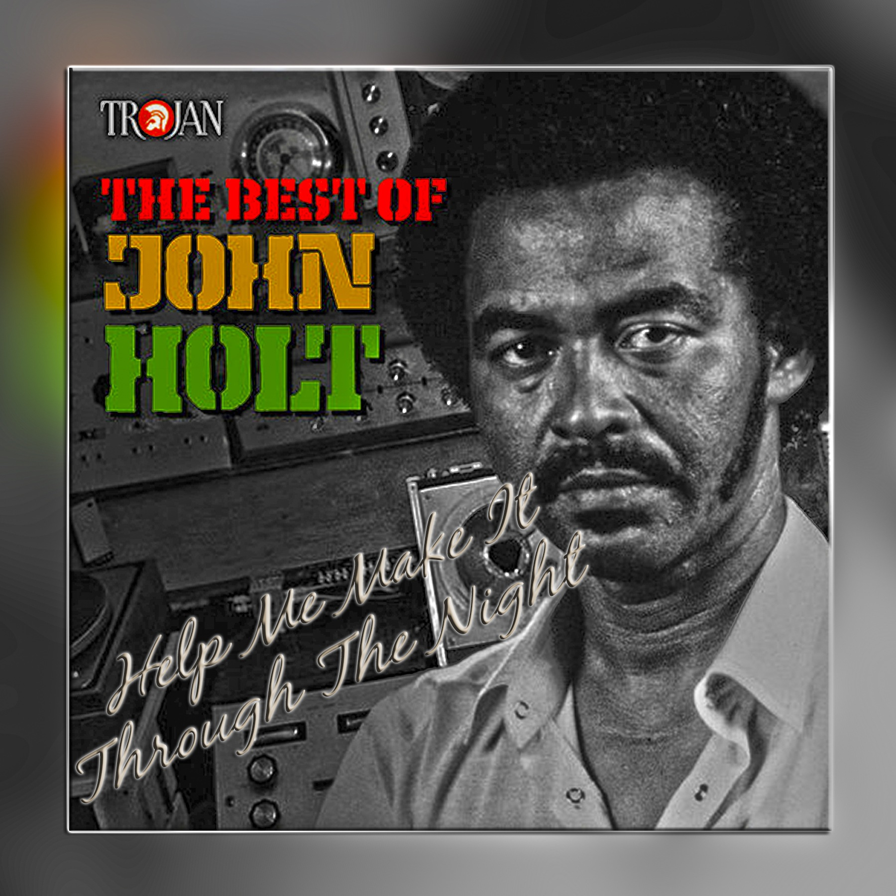 LP Covers: John Holt by Mikael Rennerhorn