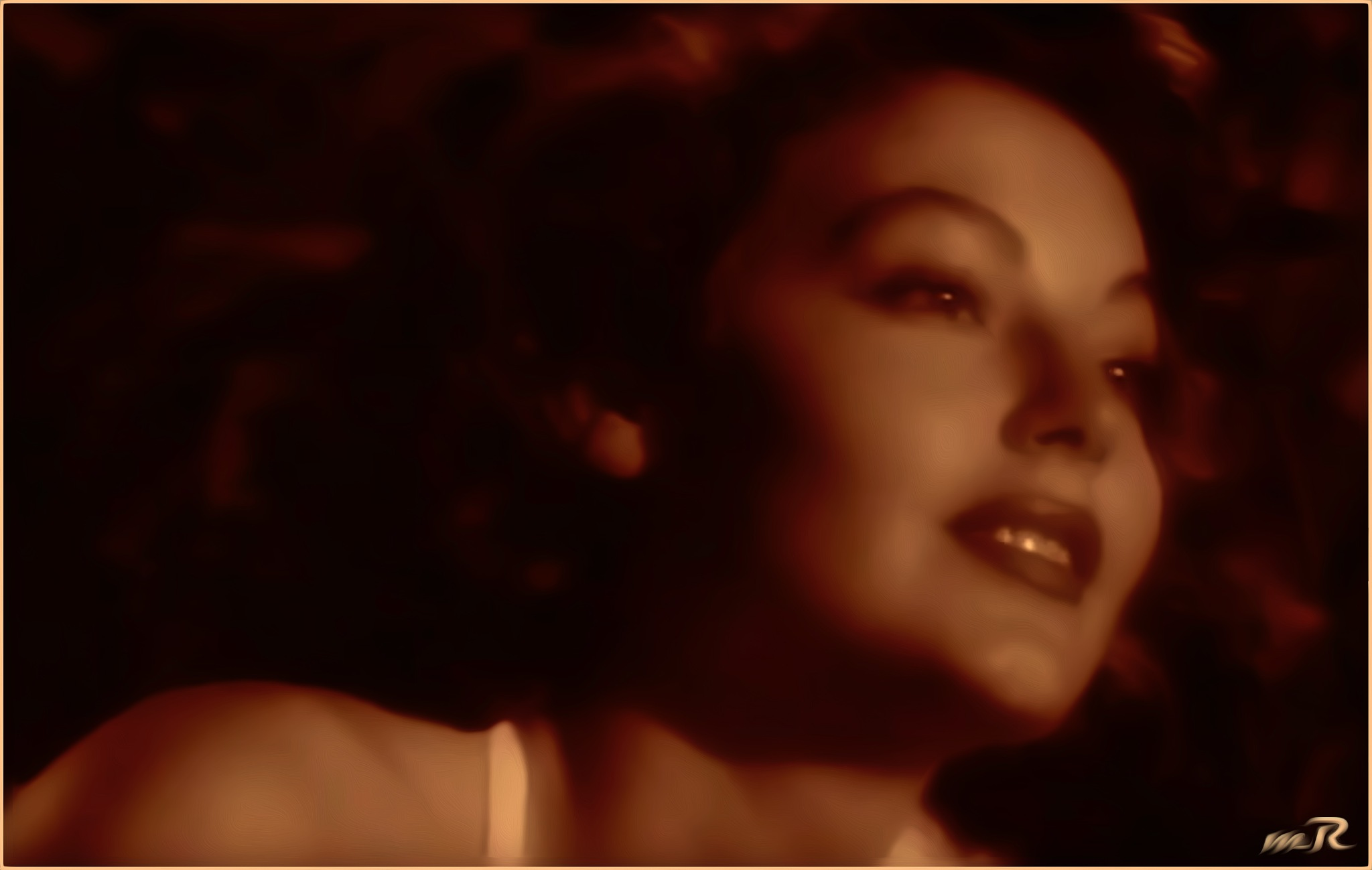 Screenshot from the Movieclip included with  the first Picture of Ava Gardner by Mikael Rennerhorn