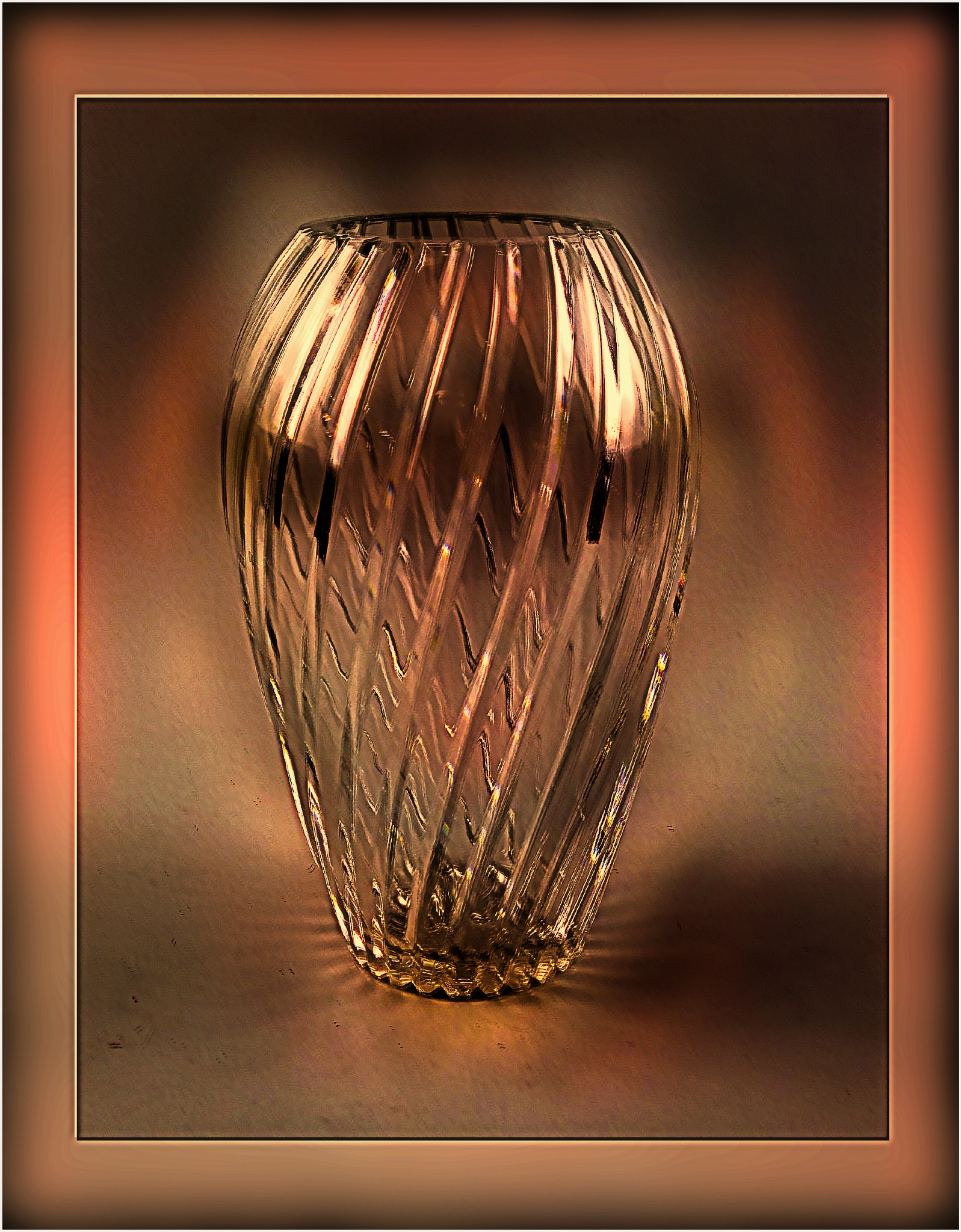 Chrystal Vase on Auction by Mikael Rennerhorn