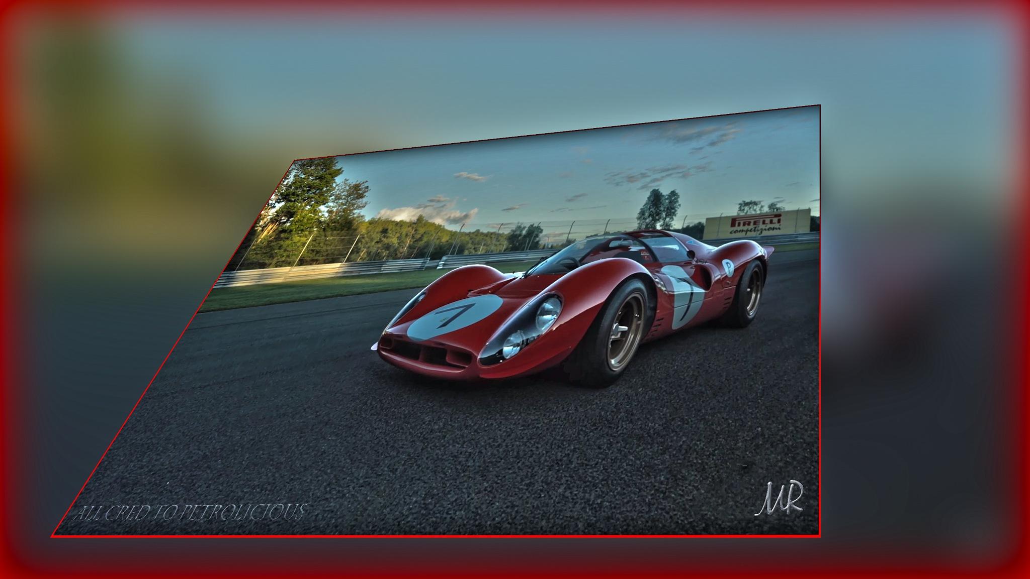 Ferrari 330 P4 by Mikael Rennerhorn