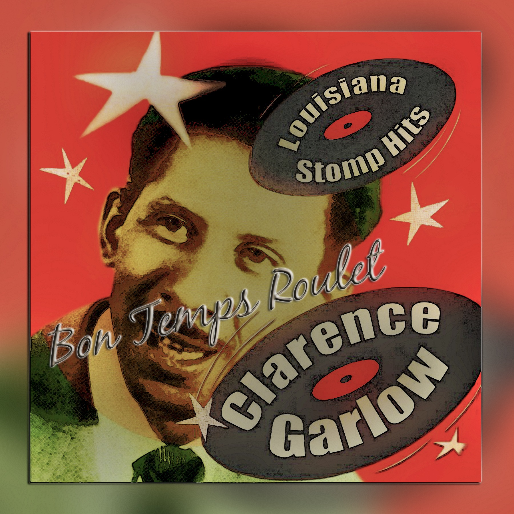 LP Covers: Clarence Garlow by Mikael Rennerhorn