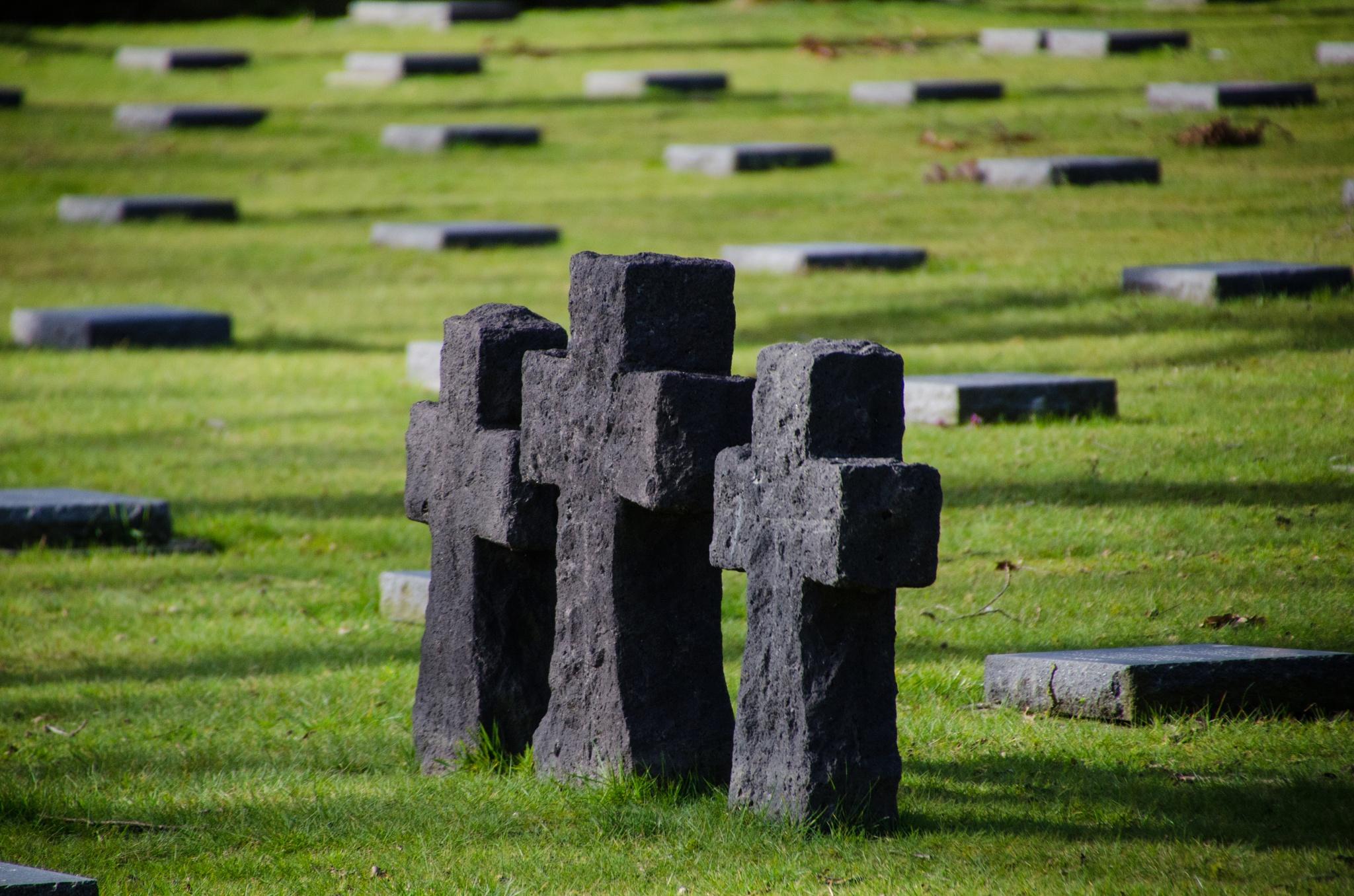 Deutscher Soldatenfriedhof - Langemark Belgium - WOI Memorial by raymond.vanharen