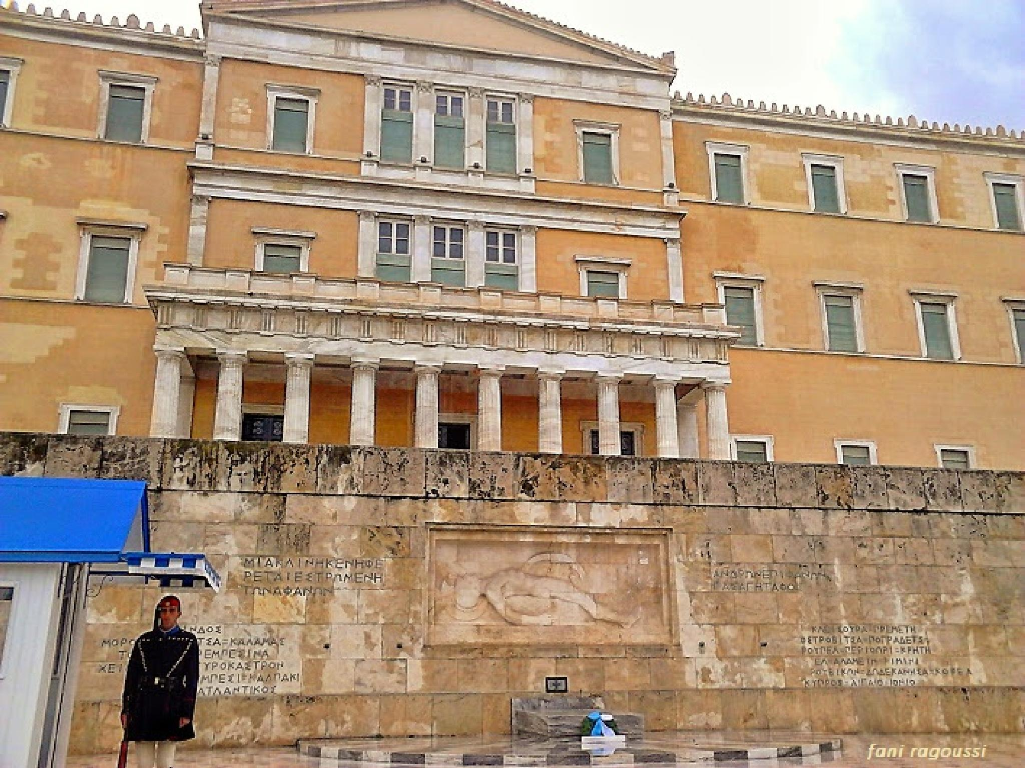 Photo in Random #athens #greece #parliament