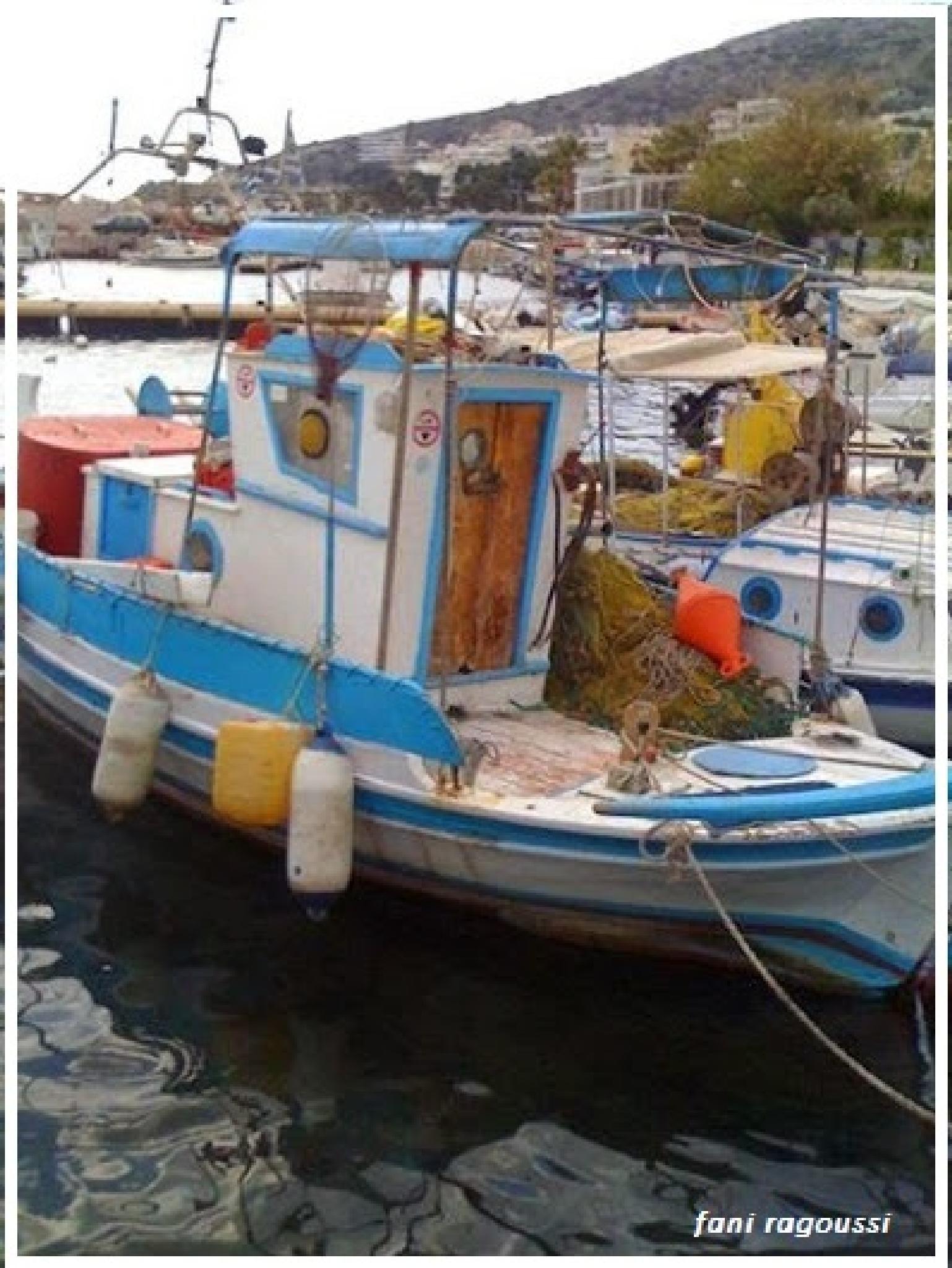 fishing boats by fani ragoussi