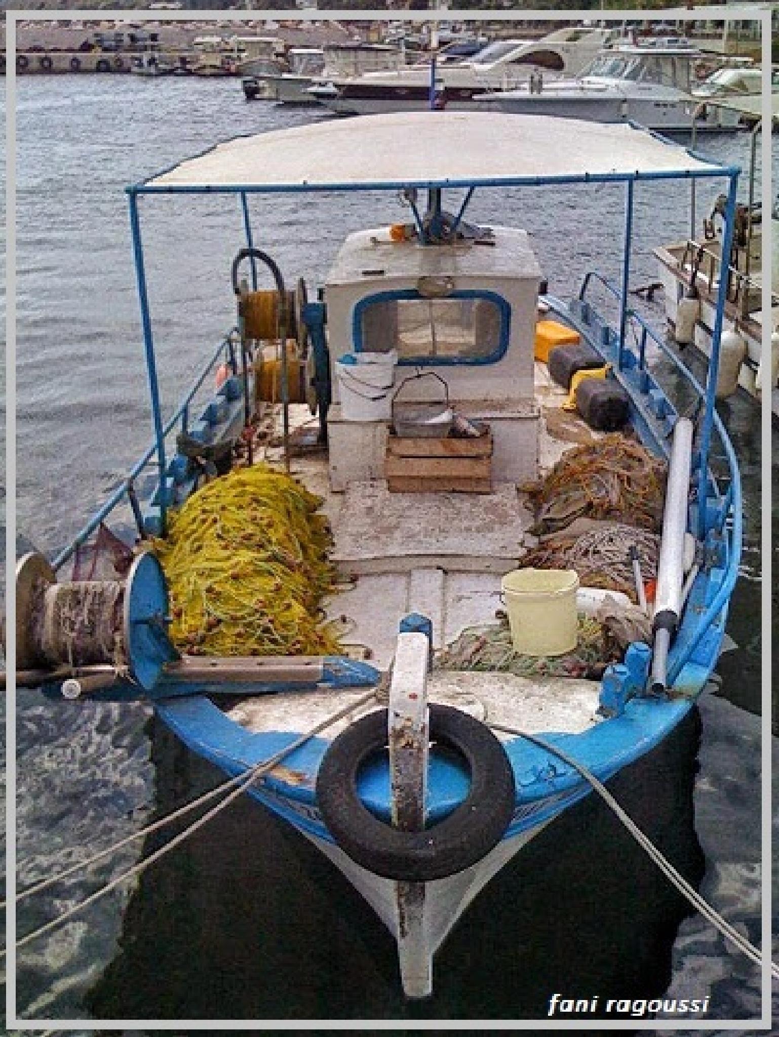 boats by fani ragoussi