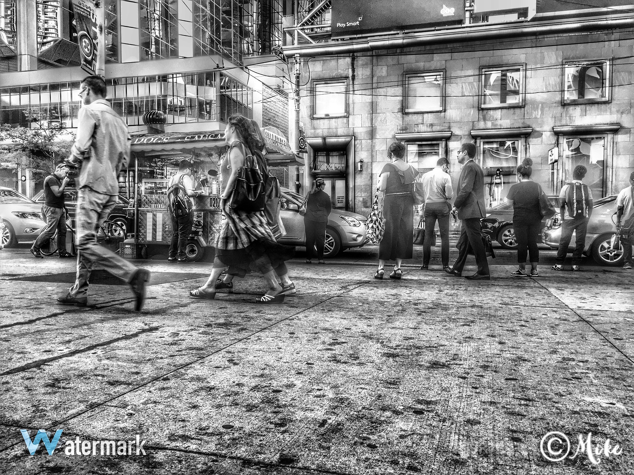Yonge and Dundas by Burke's Photography