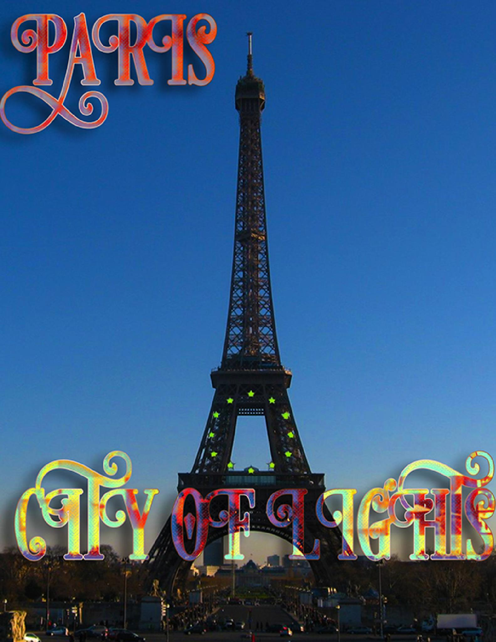 Paris - City Of Lights by Saami Powell