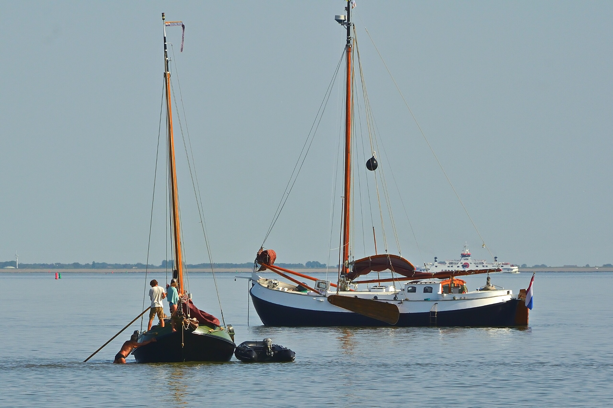 Waddenzee bij Ameland  by Henk Meima