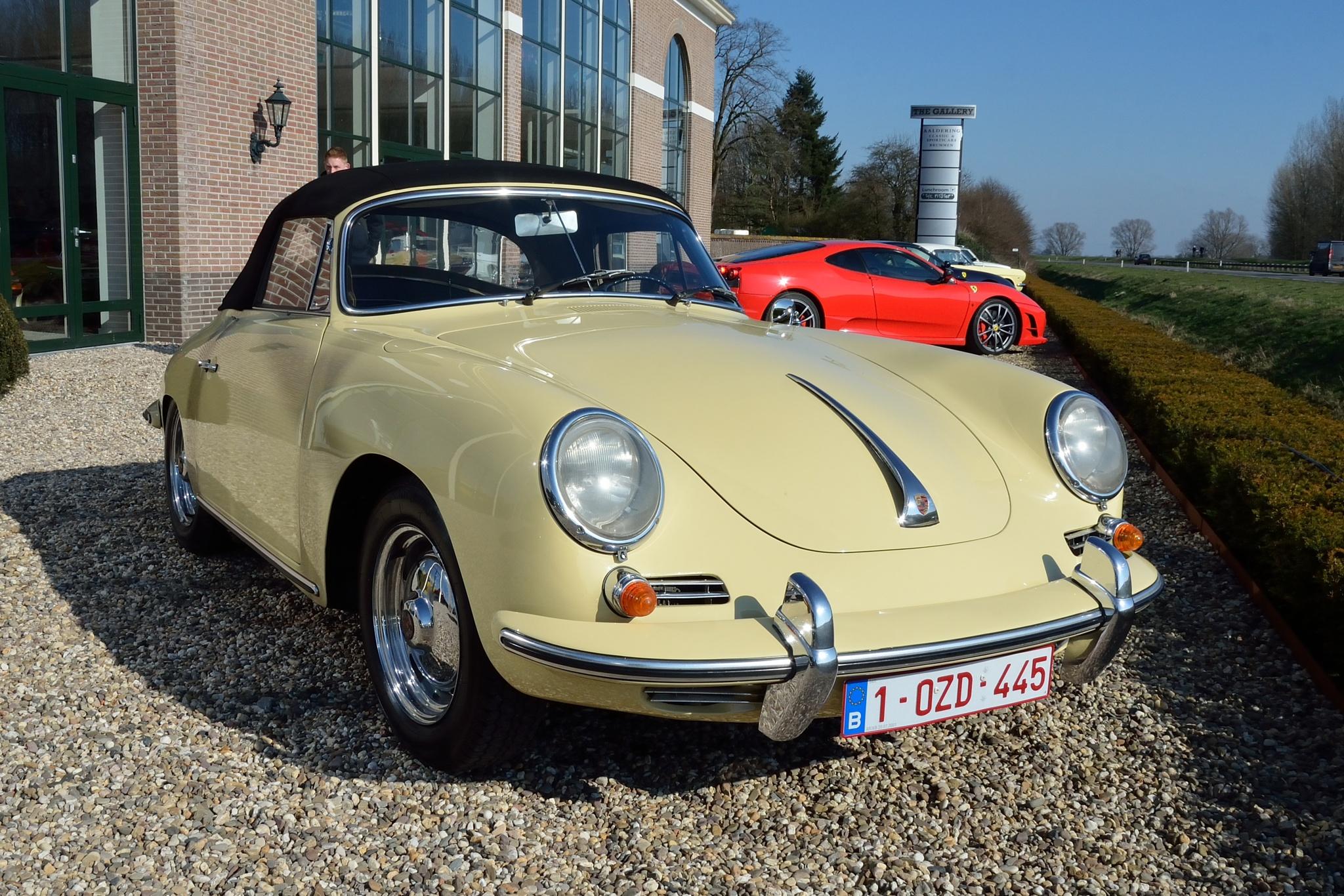 Porsche 356 Cabrio by Henk Meima