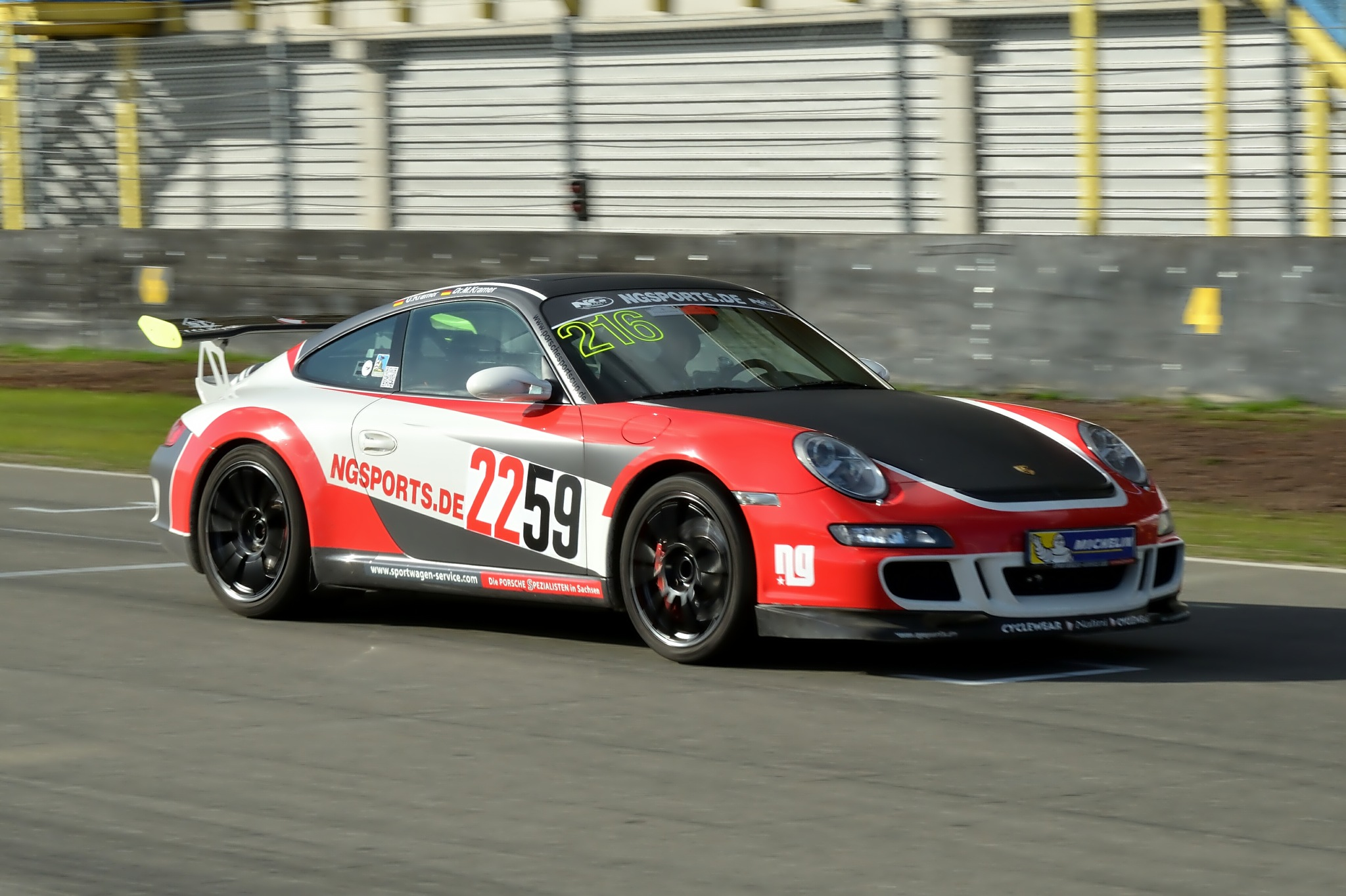 Porsche 911 GT3 by Henk Meima