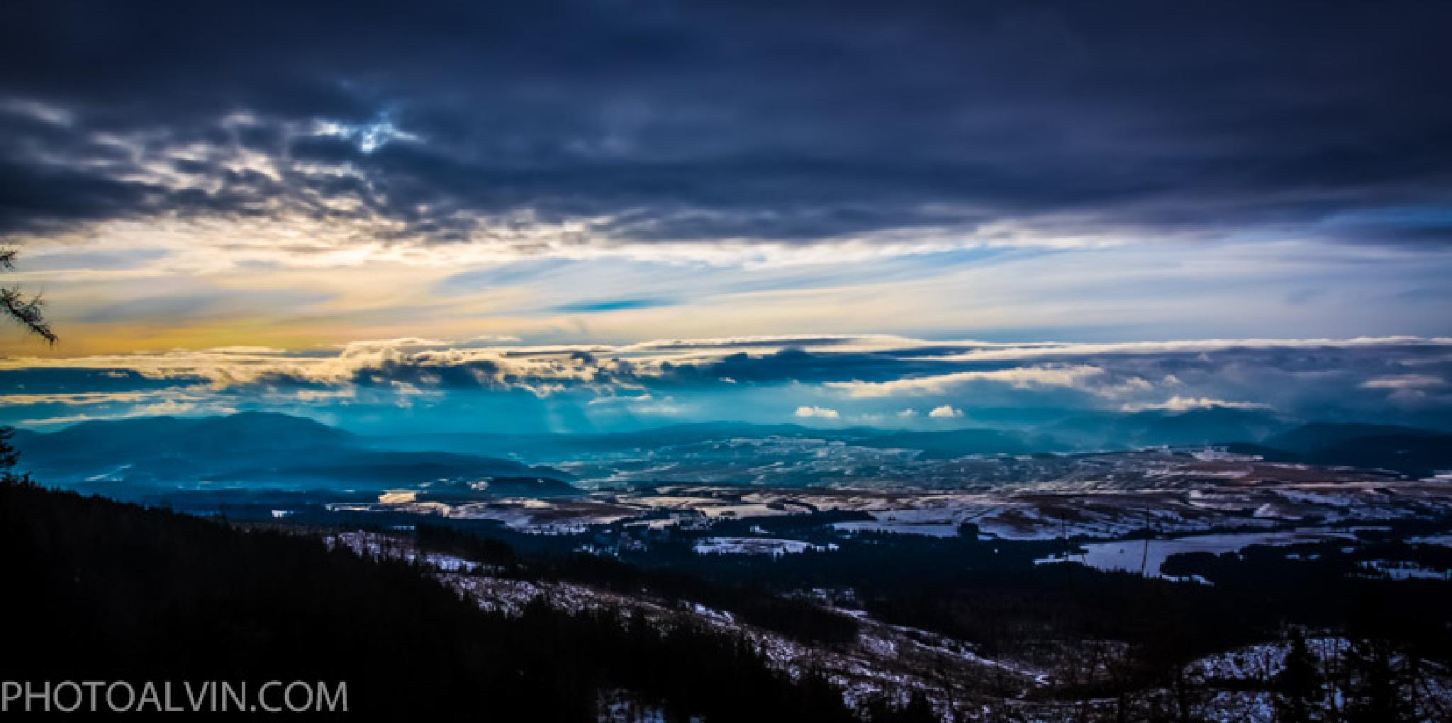 winter storm by PHOTOALVIN