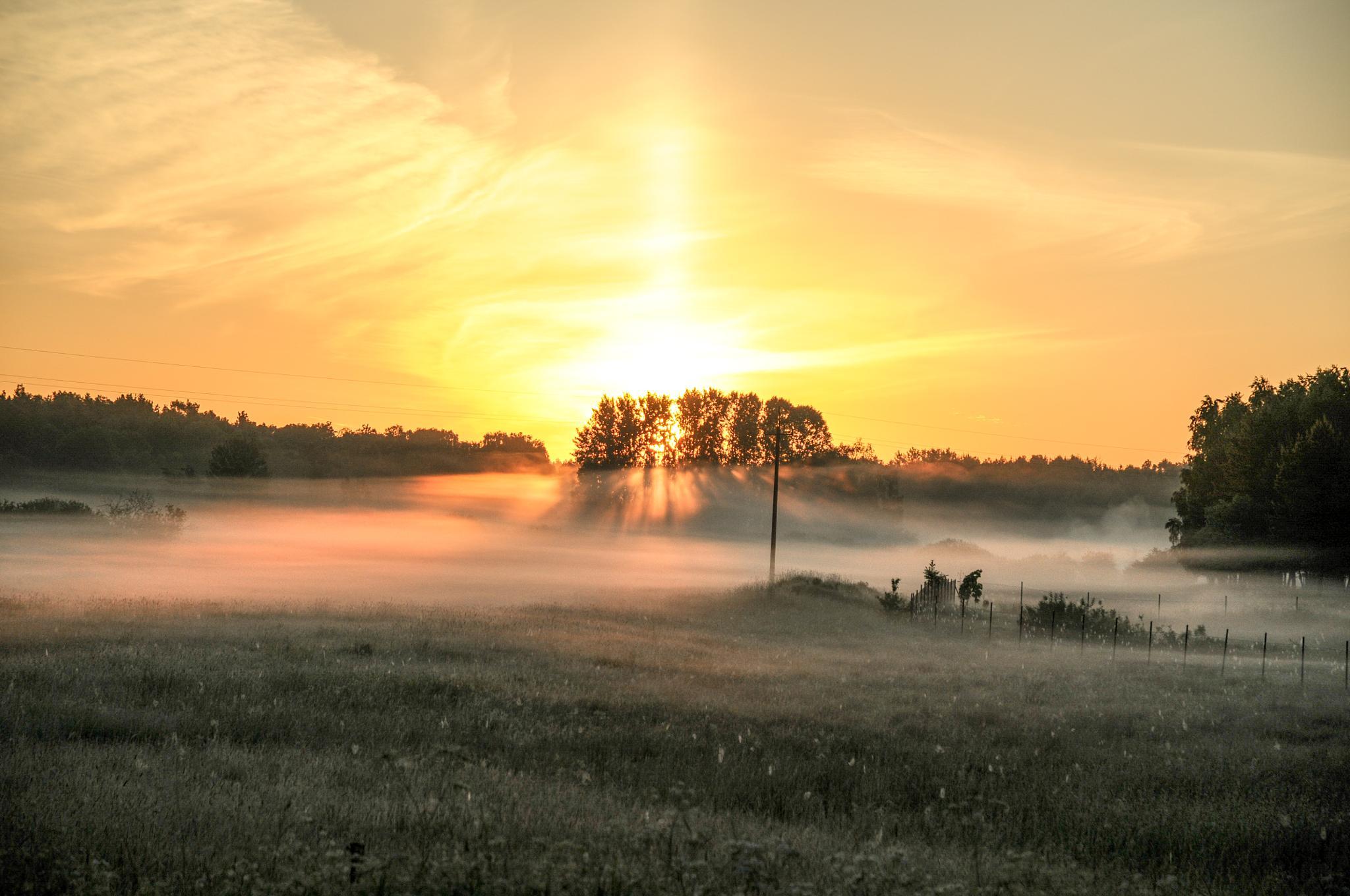 Sunrise II by natalia.tkaczyk29