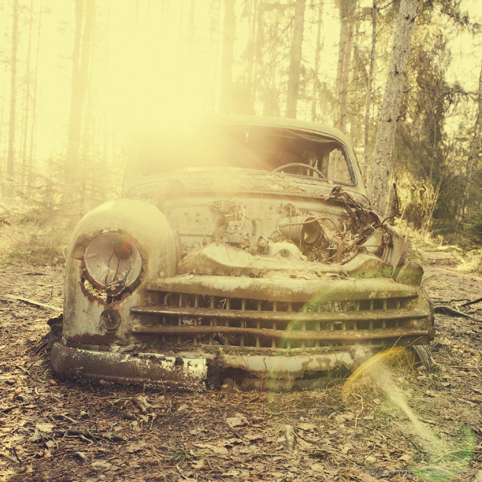 An Old Car by Fredric Dacke Photography