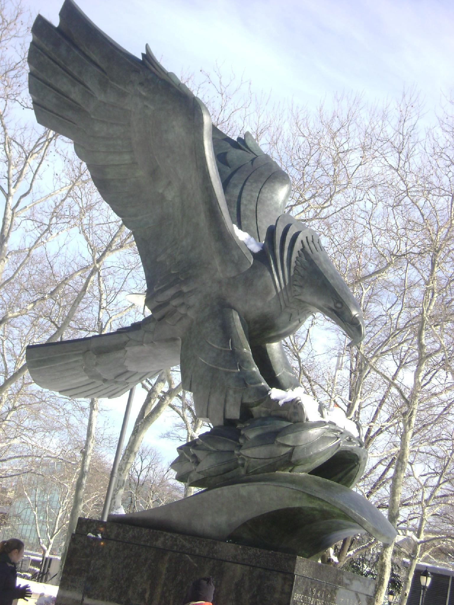 Memorial Eagle by Diana Marenfeld