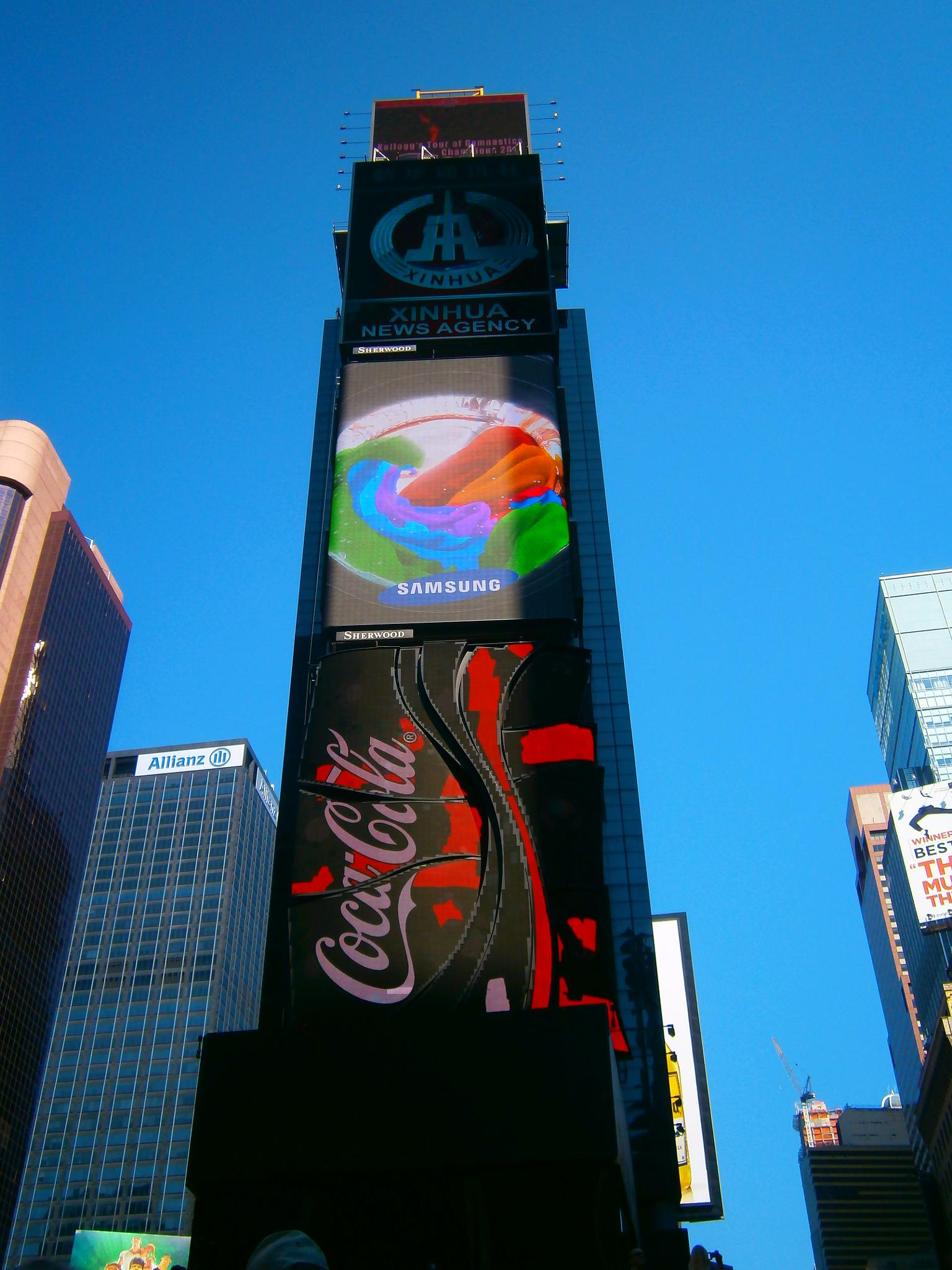 Iconic Times Square by Diana Marenfeld