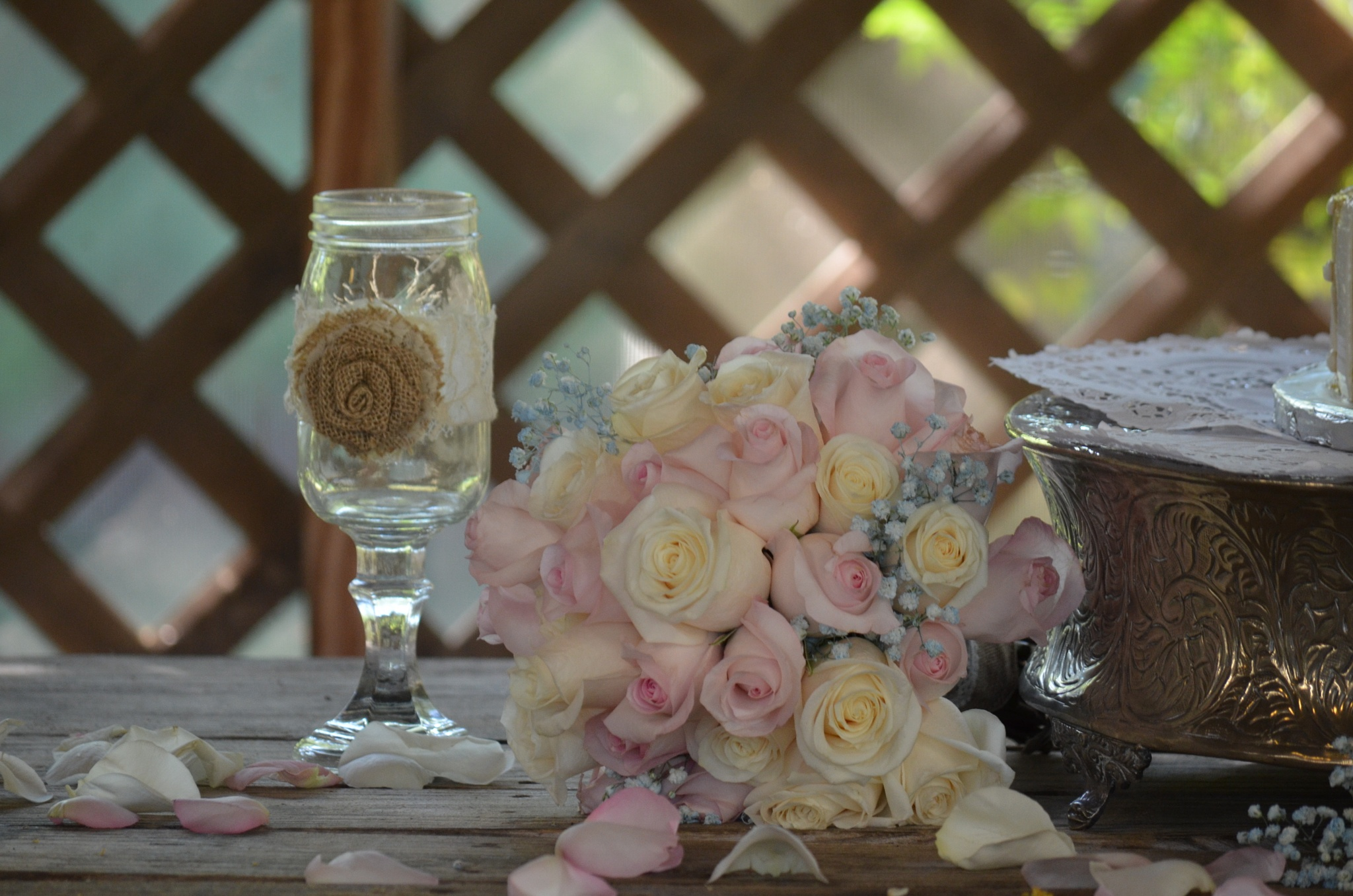 Photo in Abstract #wedding #bouquet #flowers #close up #july #alabama