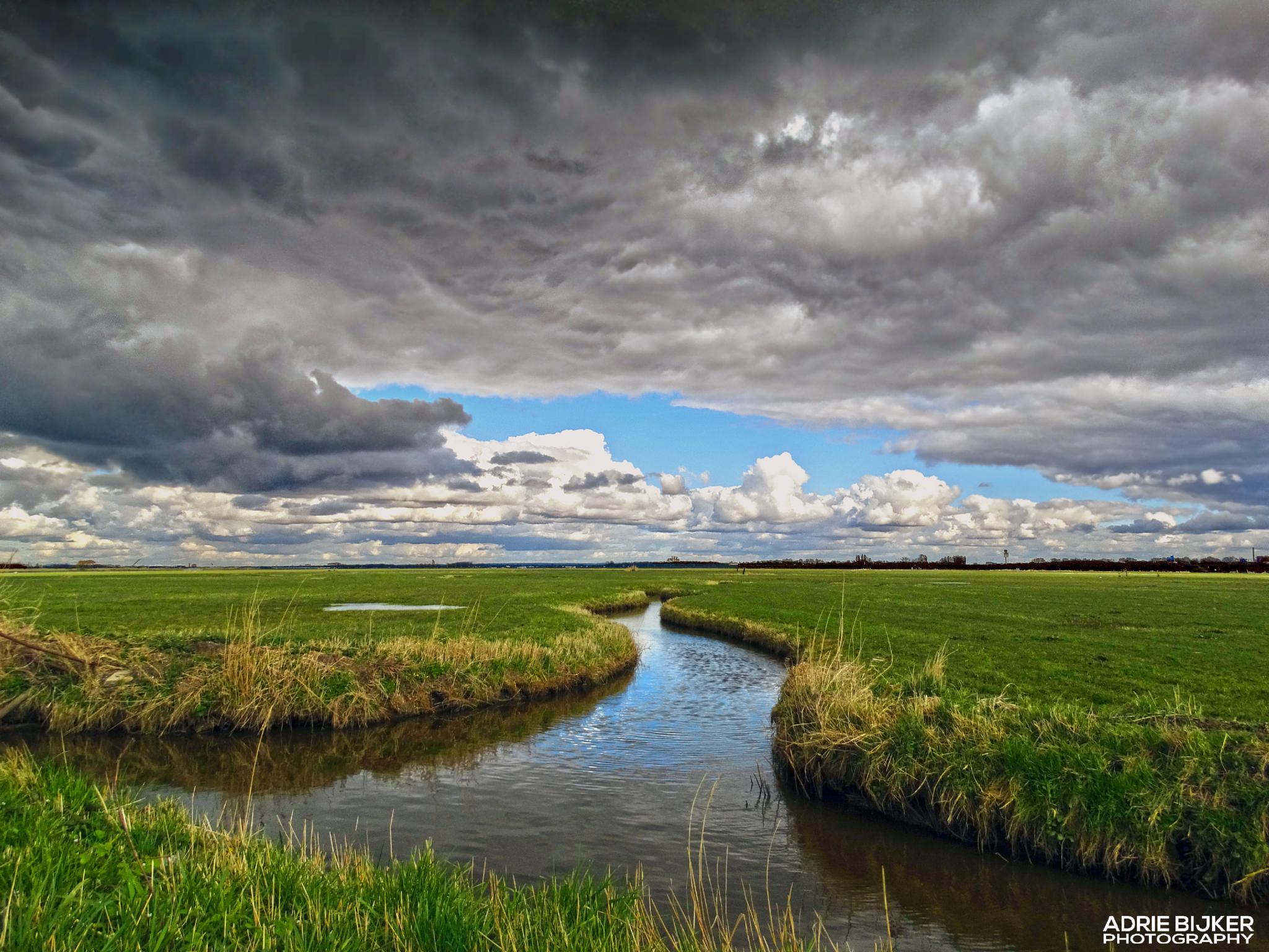 Arkemheenpolder -Nijkerk by Adrie Bijker