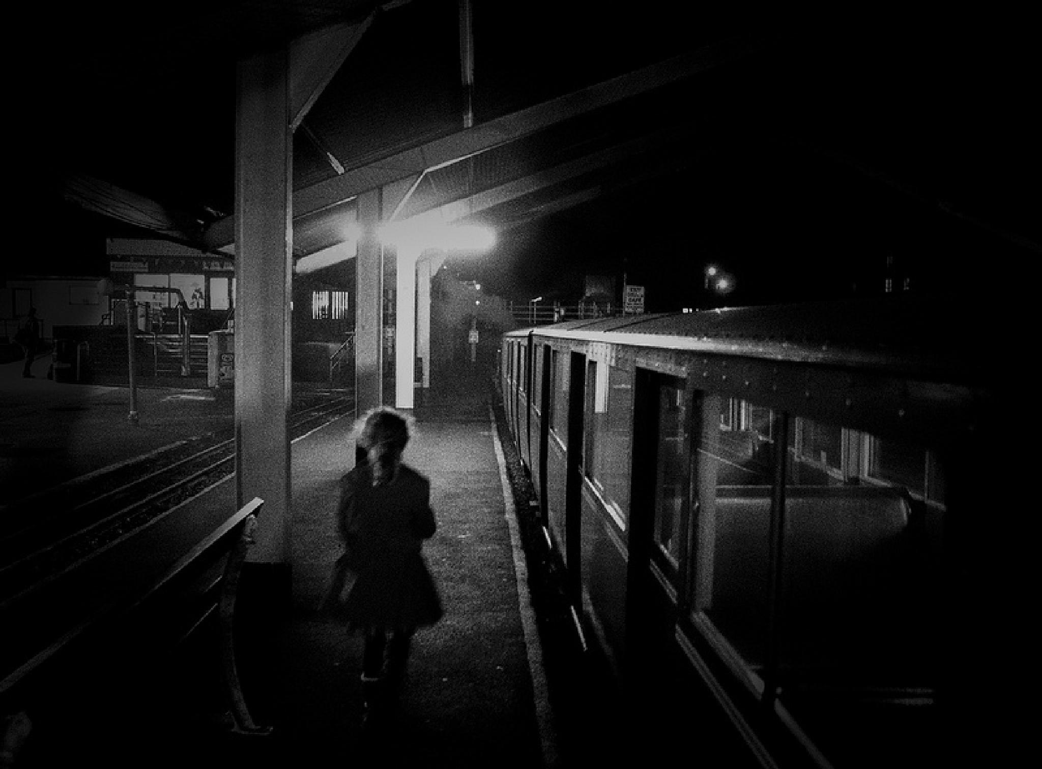 Girl on a train part 1 by Alan Wilson