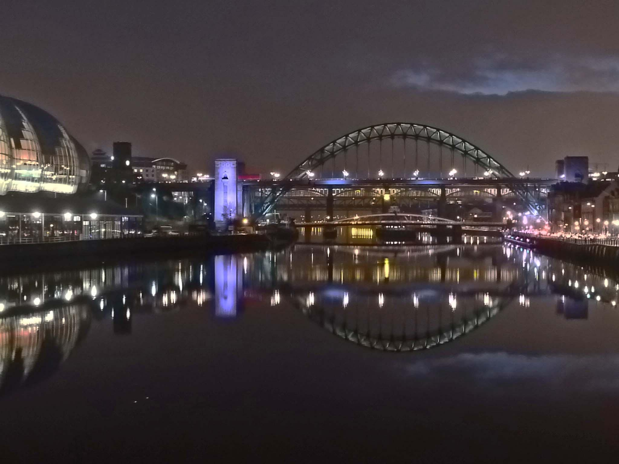 View of The River Tyne Newcastle 2014 by Darren Turner