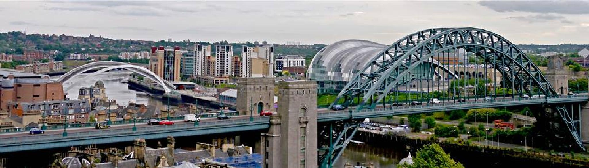 View from the Castle Keep Newcastle by Darren Turner
