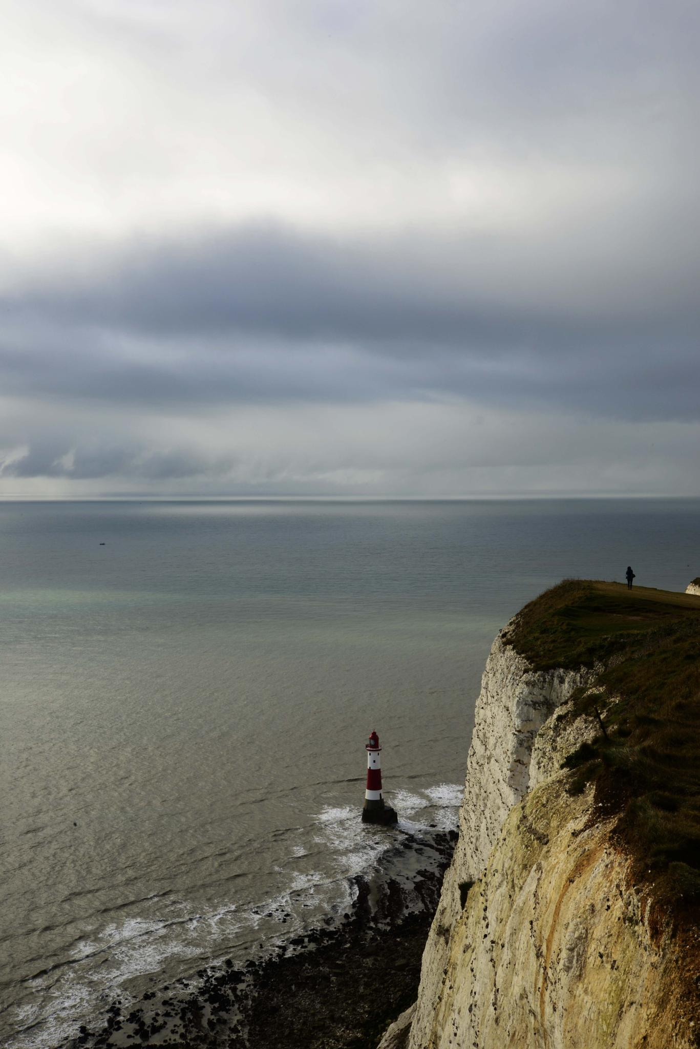 Photo in Sea and Sand #beachy head #lighthouse #sea