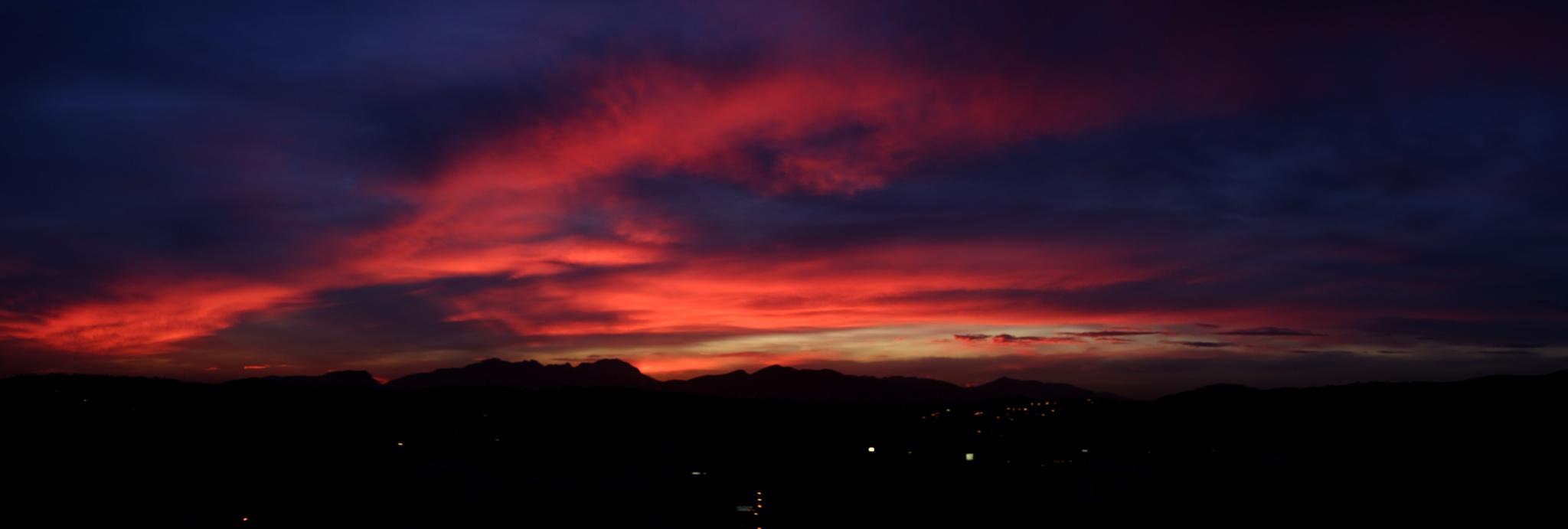 Sunset by trevor keville